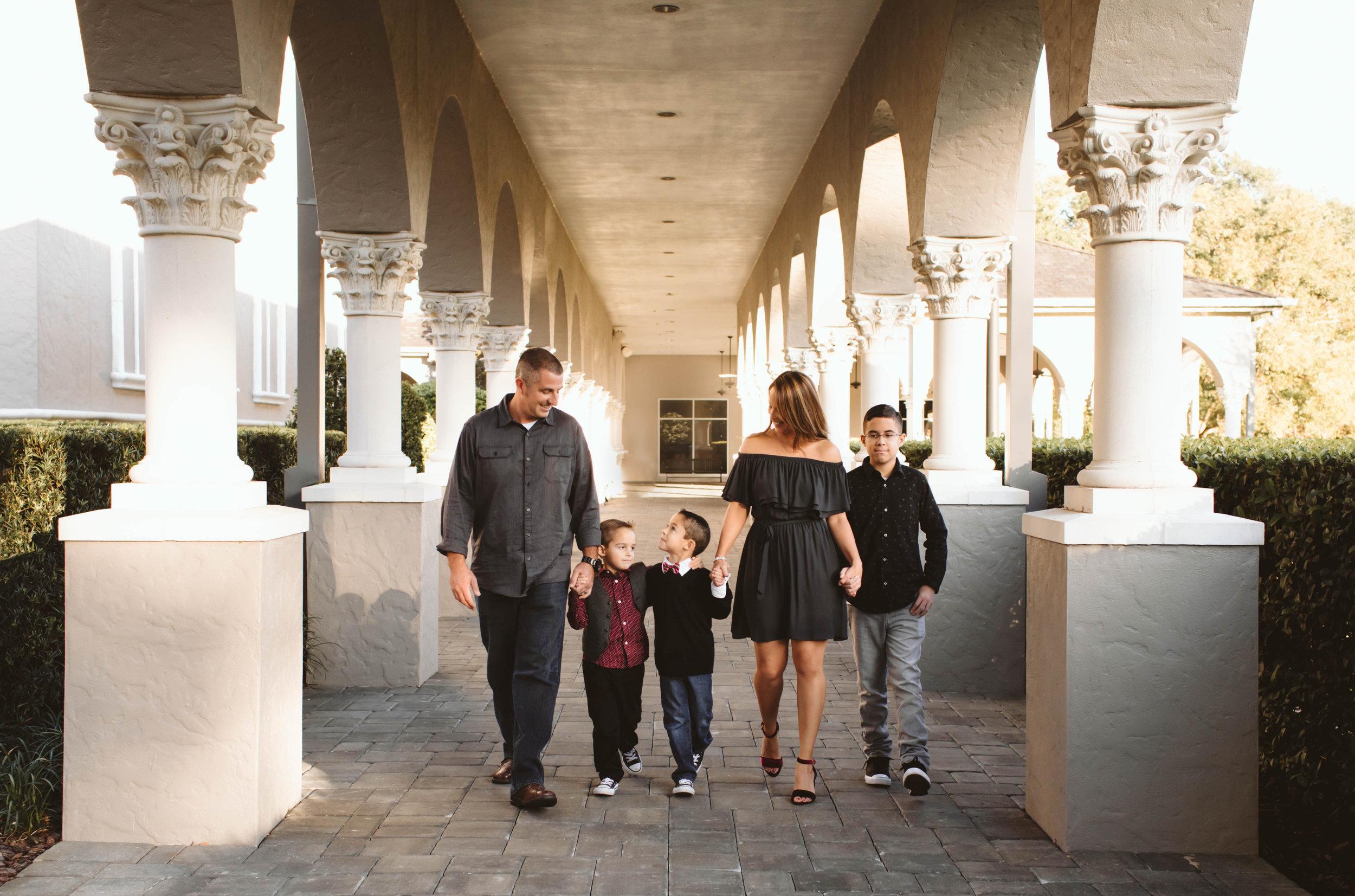 Coyne Family - A Family Lifestyle session |Sanford, FL.