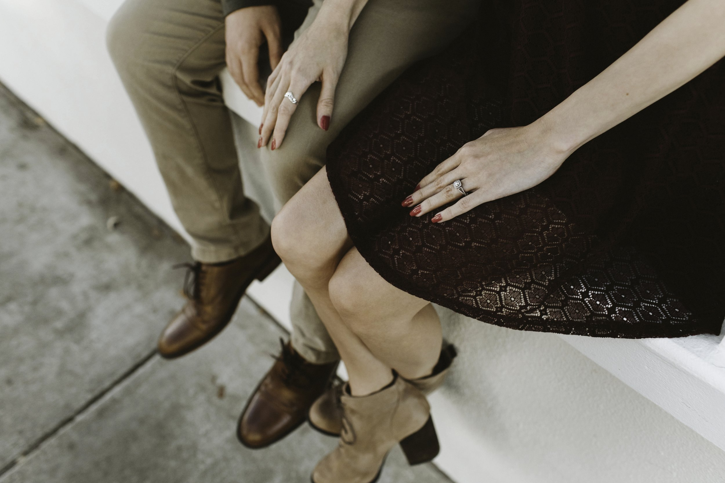 Grant & Carlynn - A quaint engagement session in Celebration, Florida