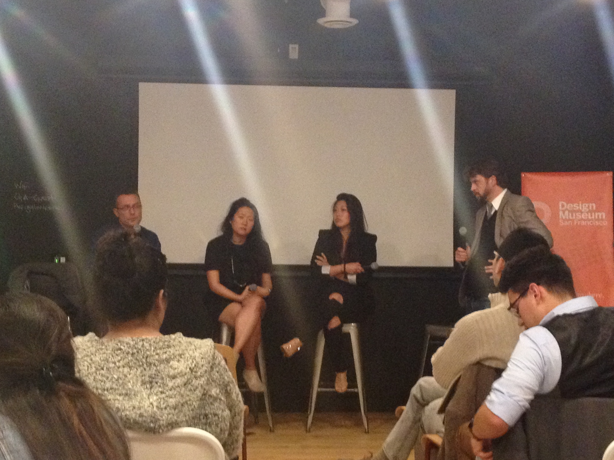 Andrew Dunbar, Mimi O Chun, Angie Kim and Drew Beam | Design X Entrepreneurship Panel, Design Museum San Francisco