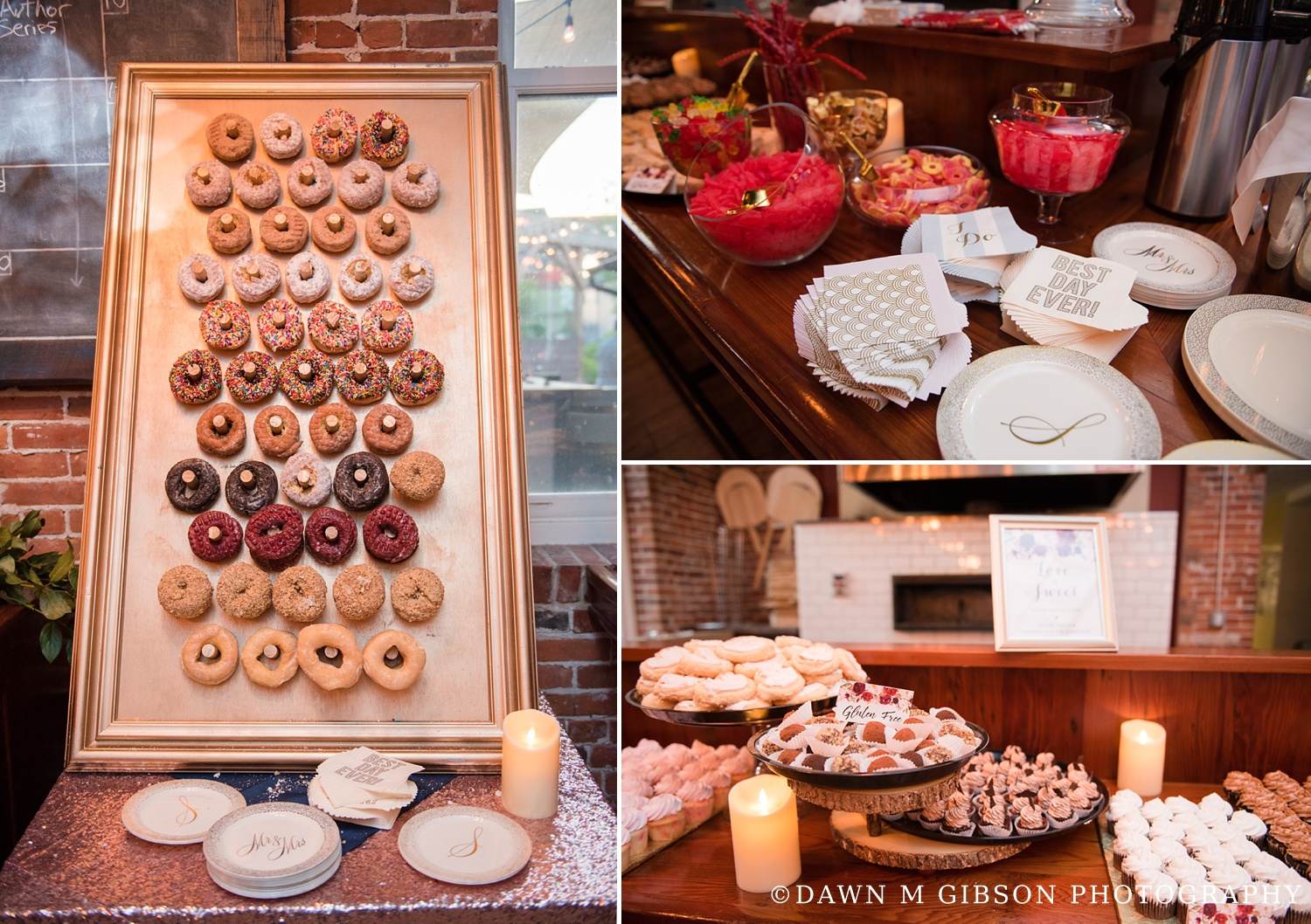 Brittany + Joel's Wedding Day | Photos by Dawn M Gibson Photography
