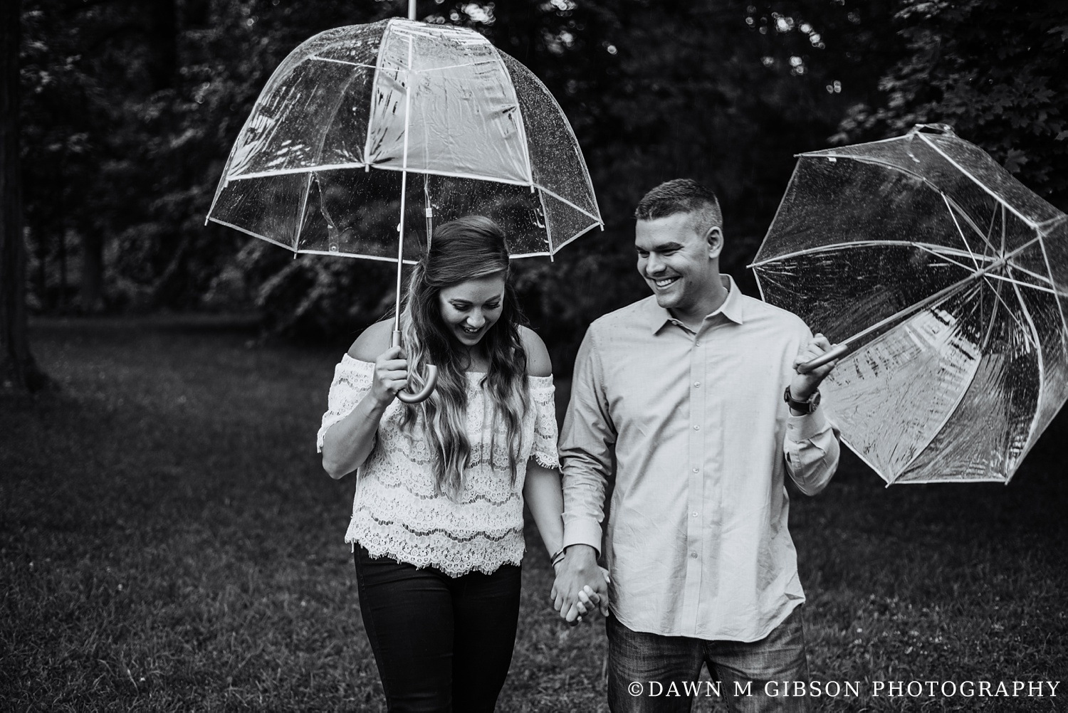 Lauren + Adam's Engagement Part 1 | Photos by Dawn M Gibson Photography