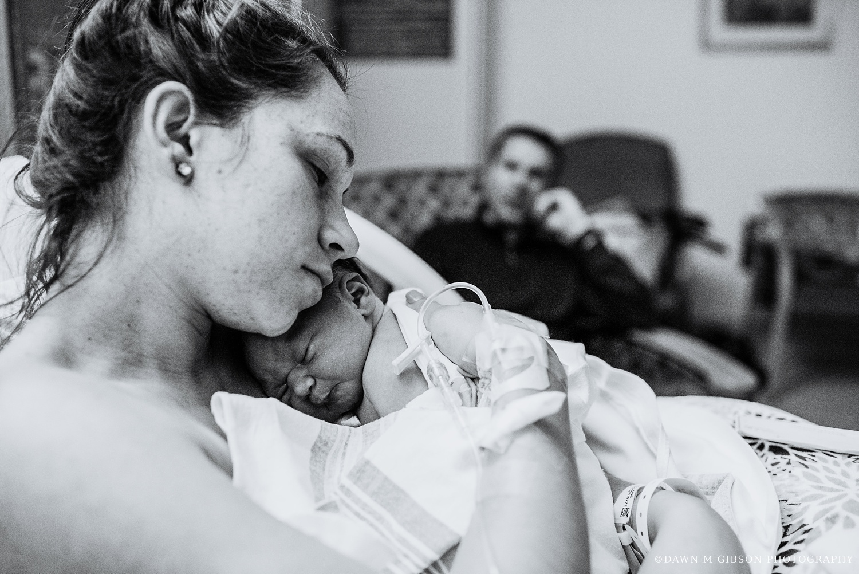 Aubertin Birth Story