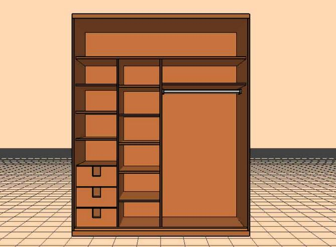 2 door with drawers and shelving.JPG