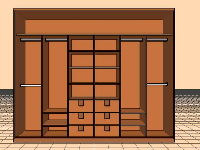 three door sliding layout with middle drawer units.JPG