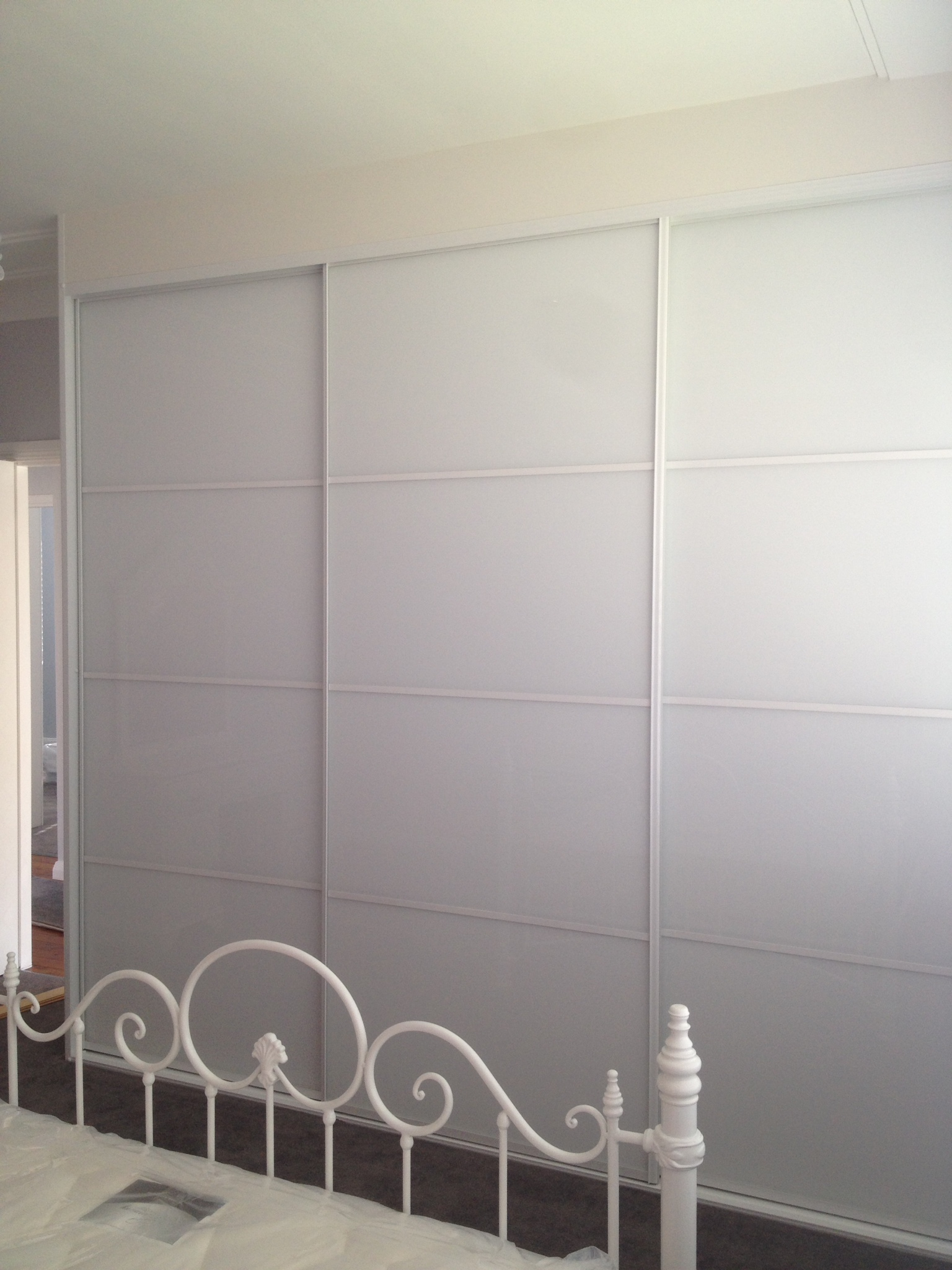 ultrawhite sliding wardrobe doors with white frame.JPG