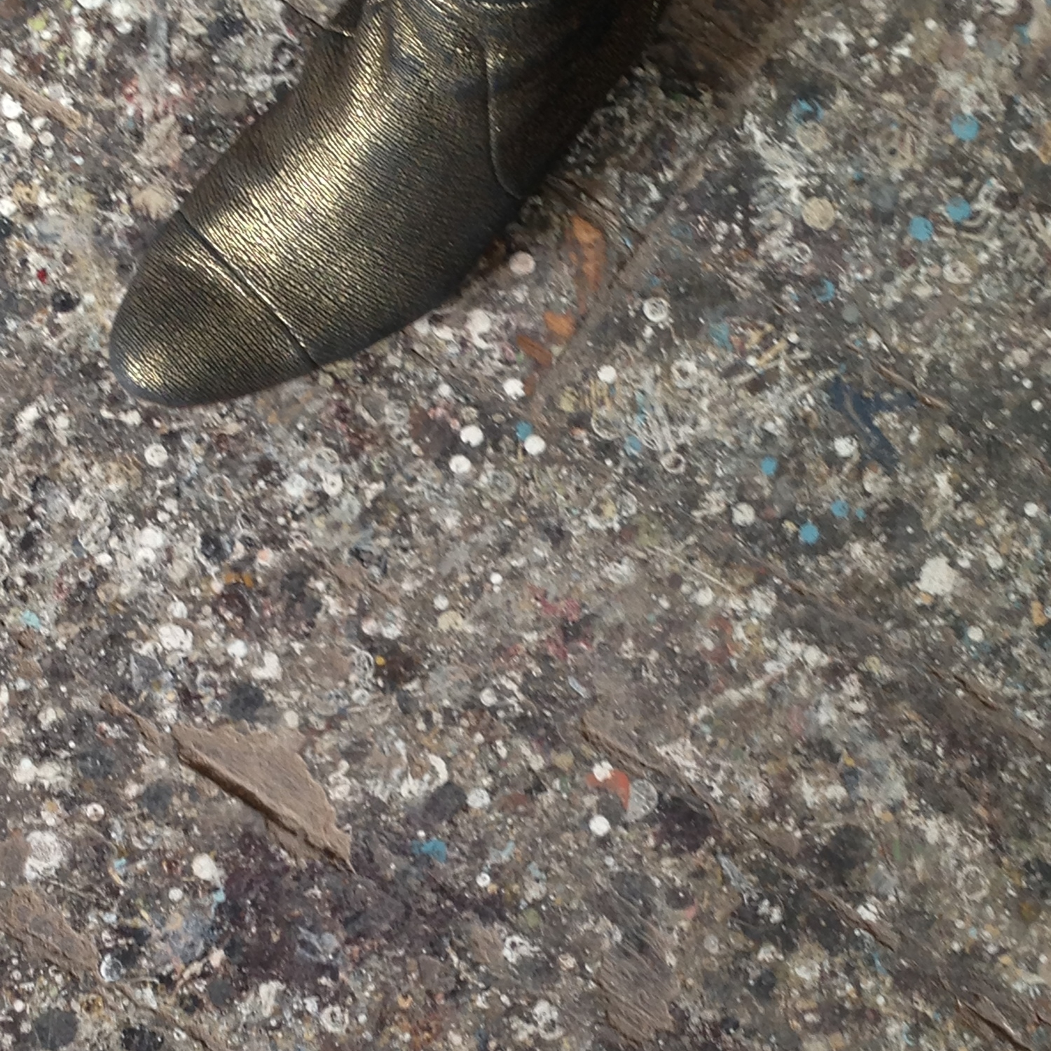 Steph's bronze boot on 50 year old patina provides a spark of inspiration