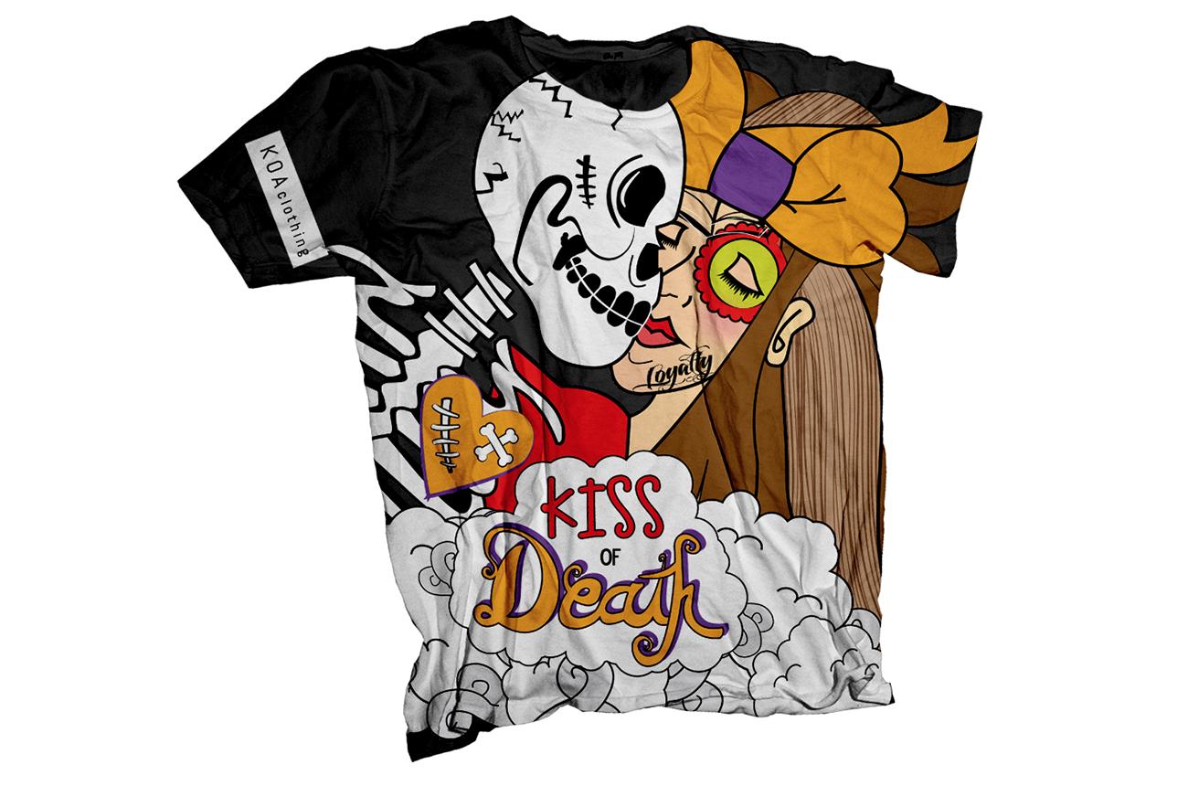 Kiss of Death T Shirt