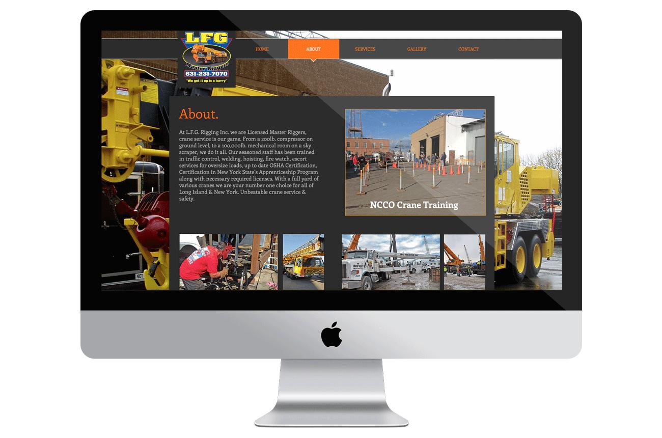 LFG Rigging Inc Website