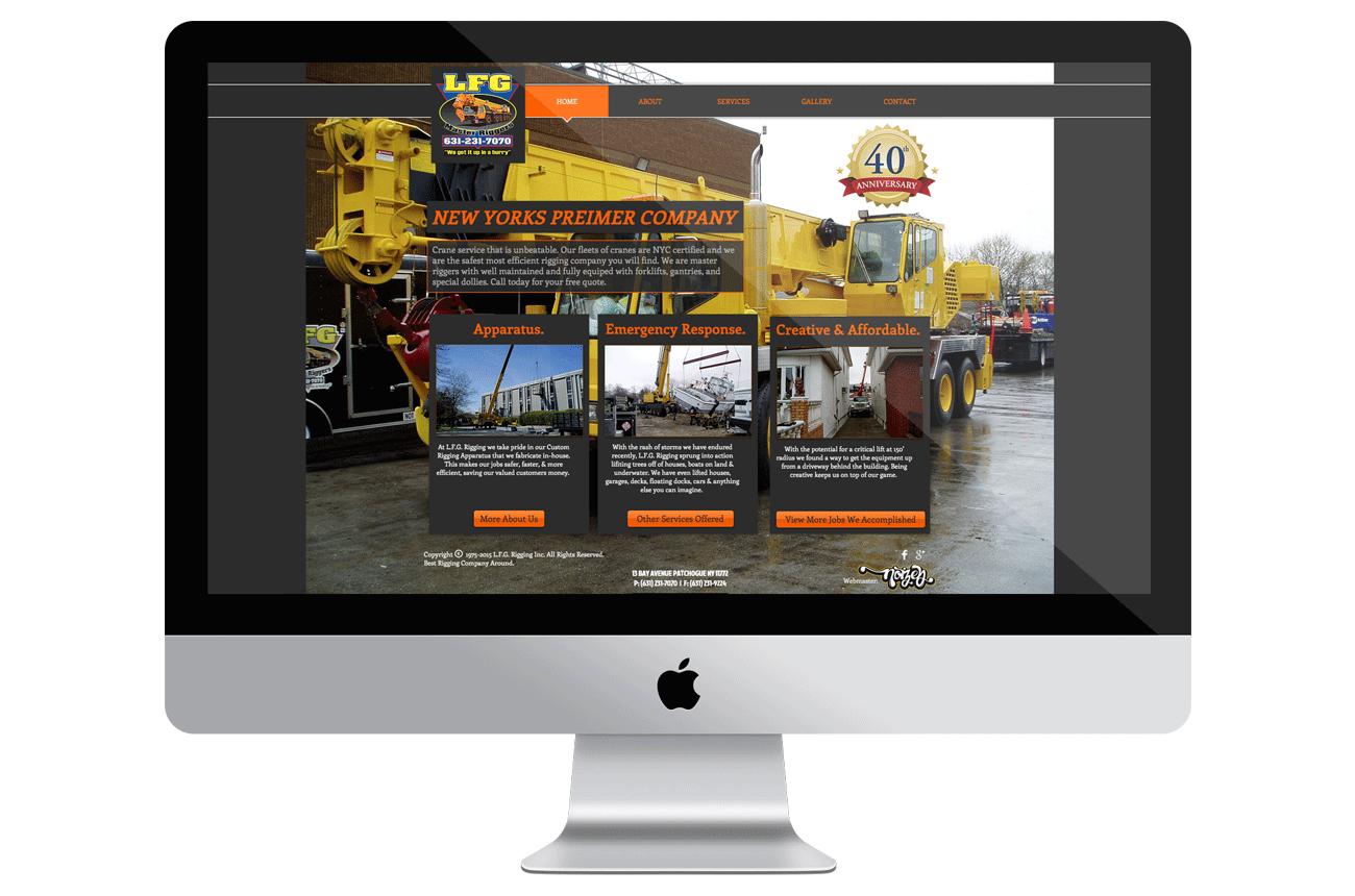 LFG Rigging Website Home