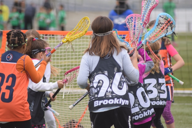 4/22/17 Girls U8 vs Crescents