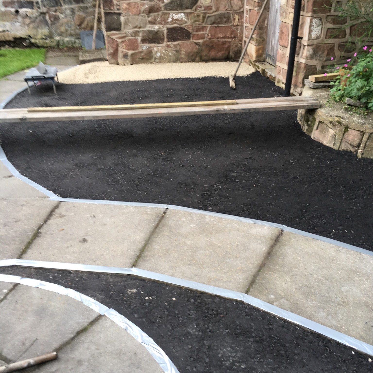 Resin Bound Stone Patio