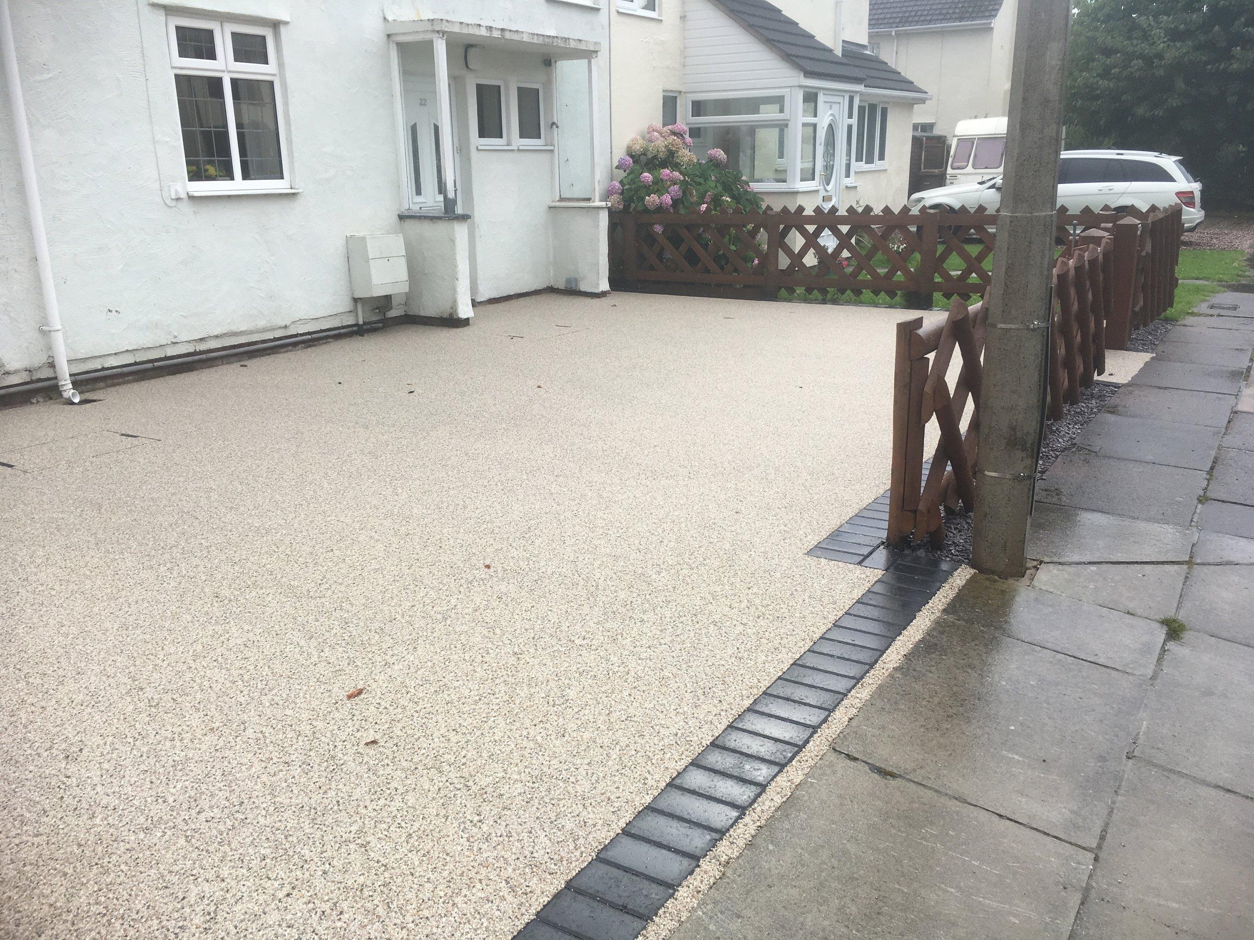 resin driveway