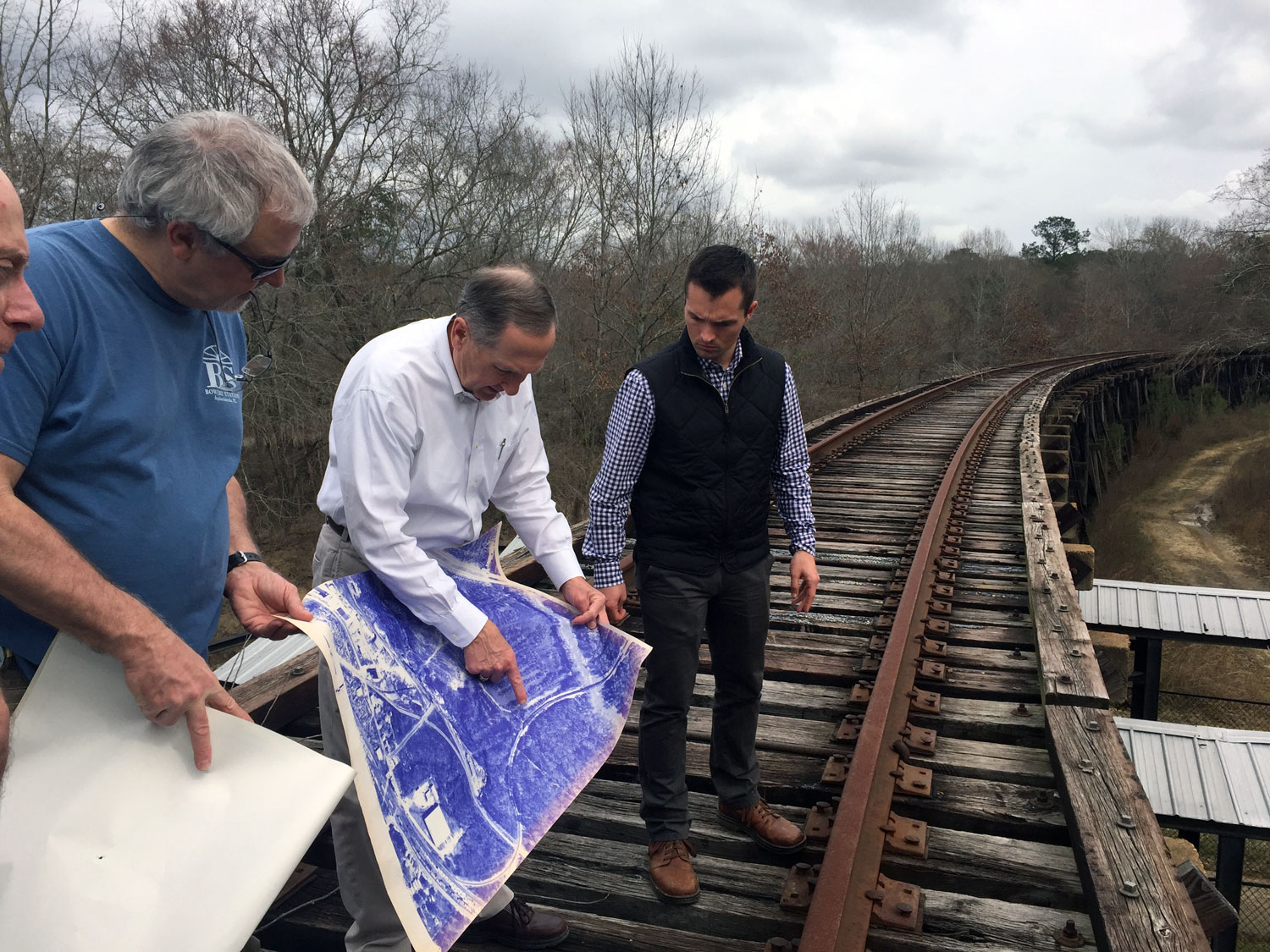 Assessing feasibility connections to the Riverfront Trail from the Albany Sasser Rail Trail