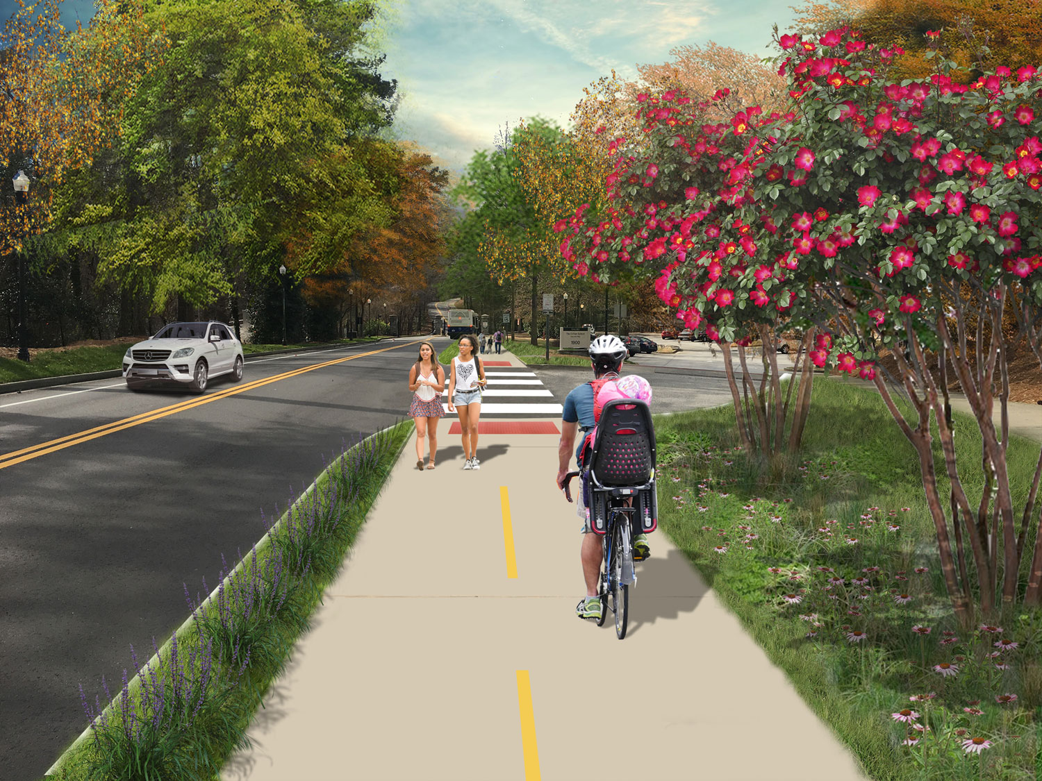 Proposed Side Path
