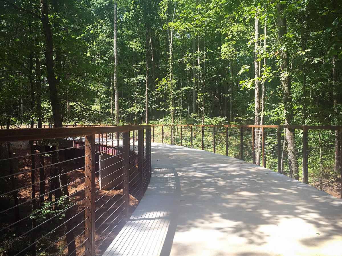 Phase I Trail Bridge in Clayton County International Park