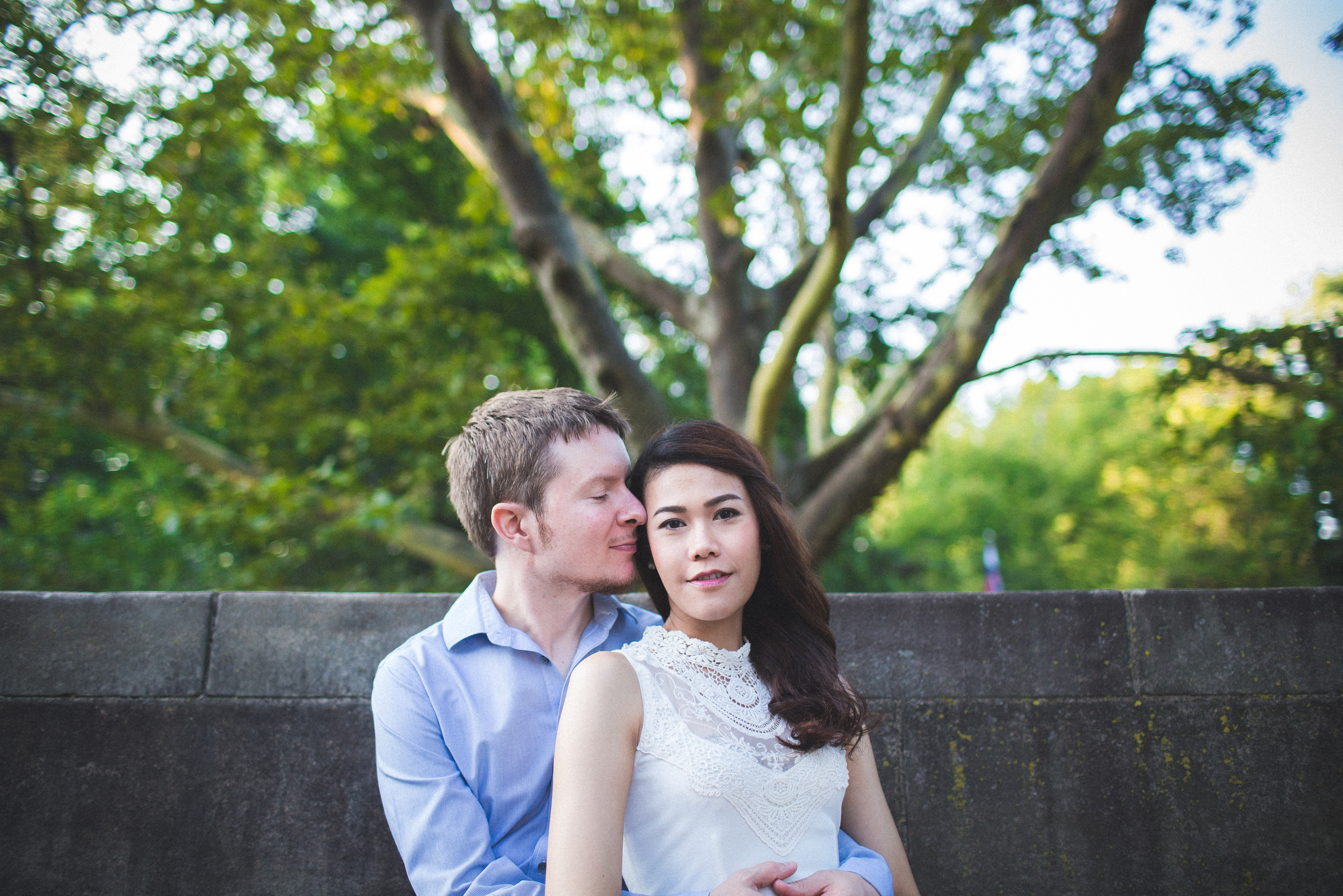 Cleveland Engagement Photographer | Cleveland Cultural Gardens
