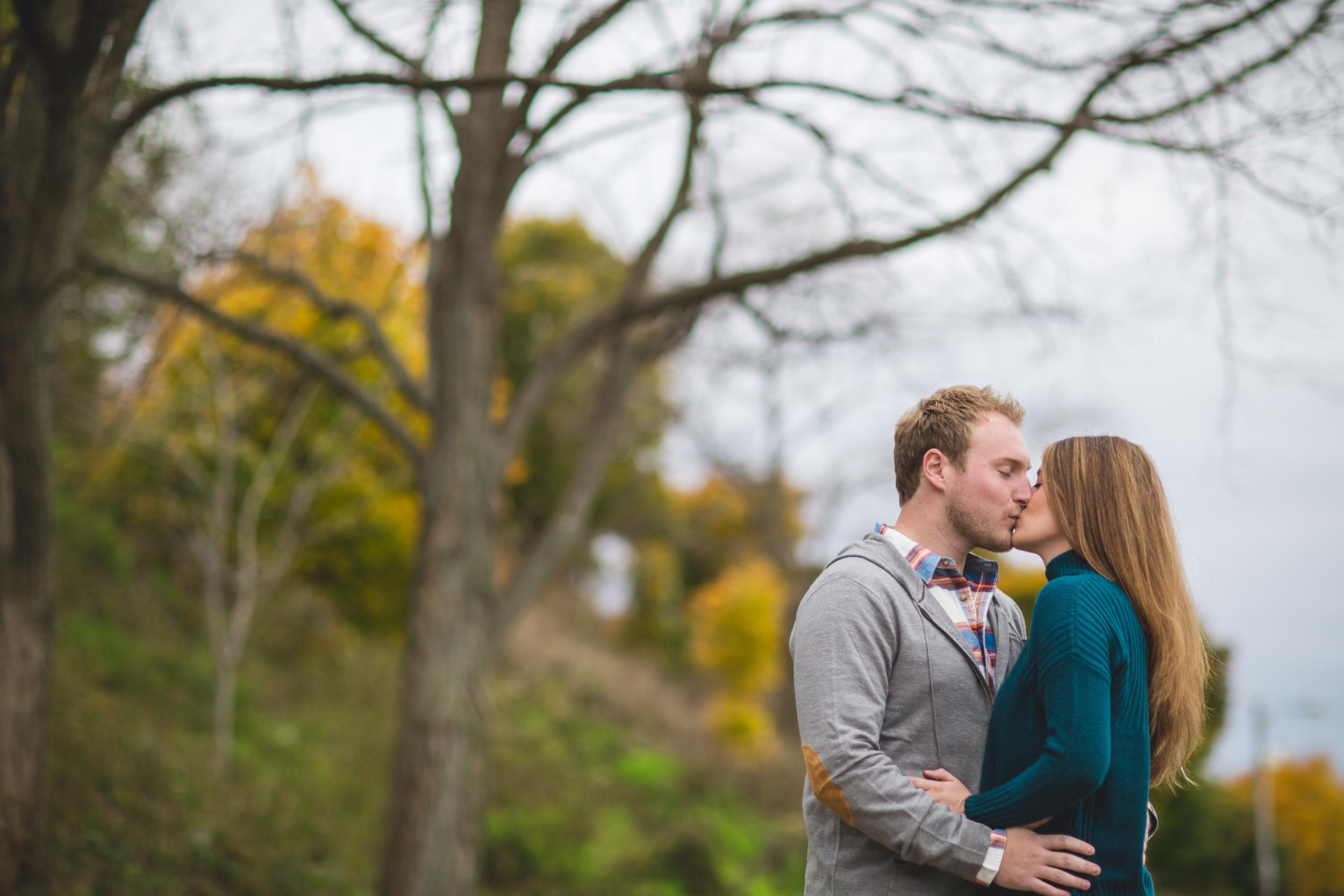 Cleveland Engagement Photography at lakewood park