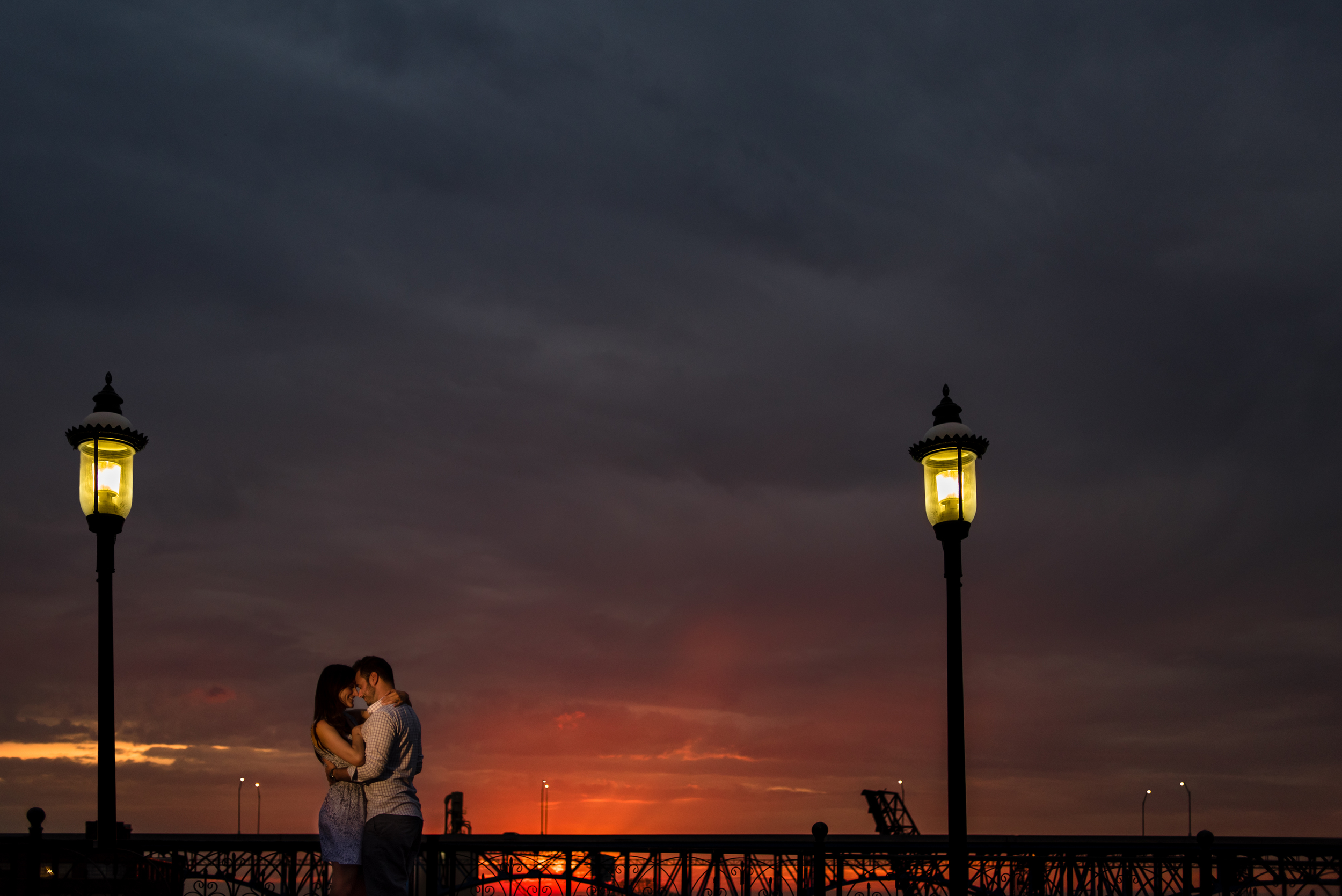 Rachel and Matt's engagement session in cleveland ohio