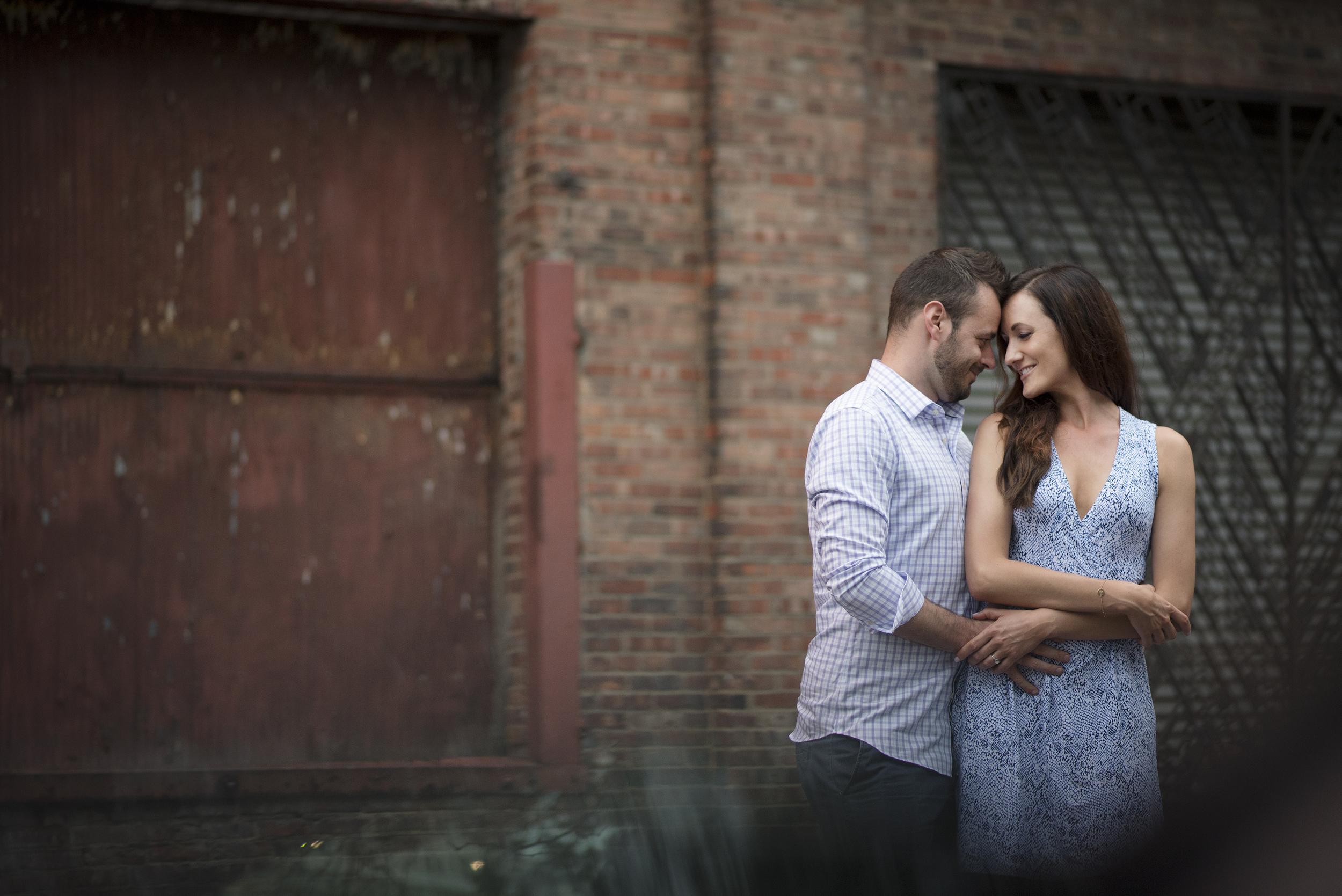 Rachel and Matt's engagement session in cleveland ohio // cleveland engagement photographer