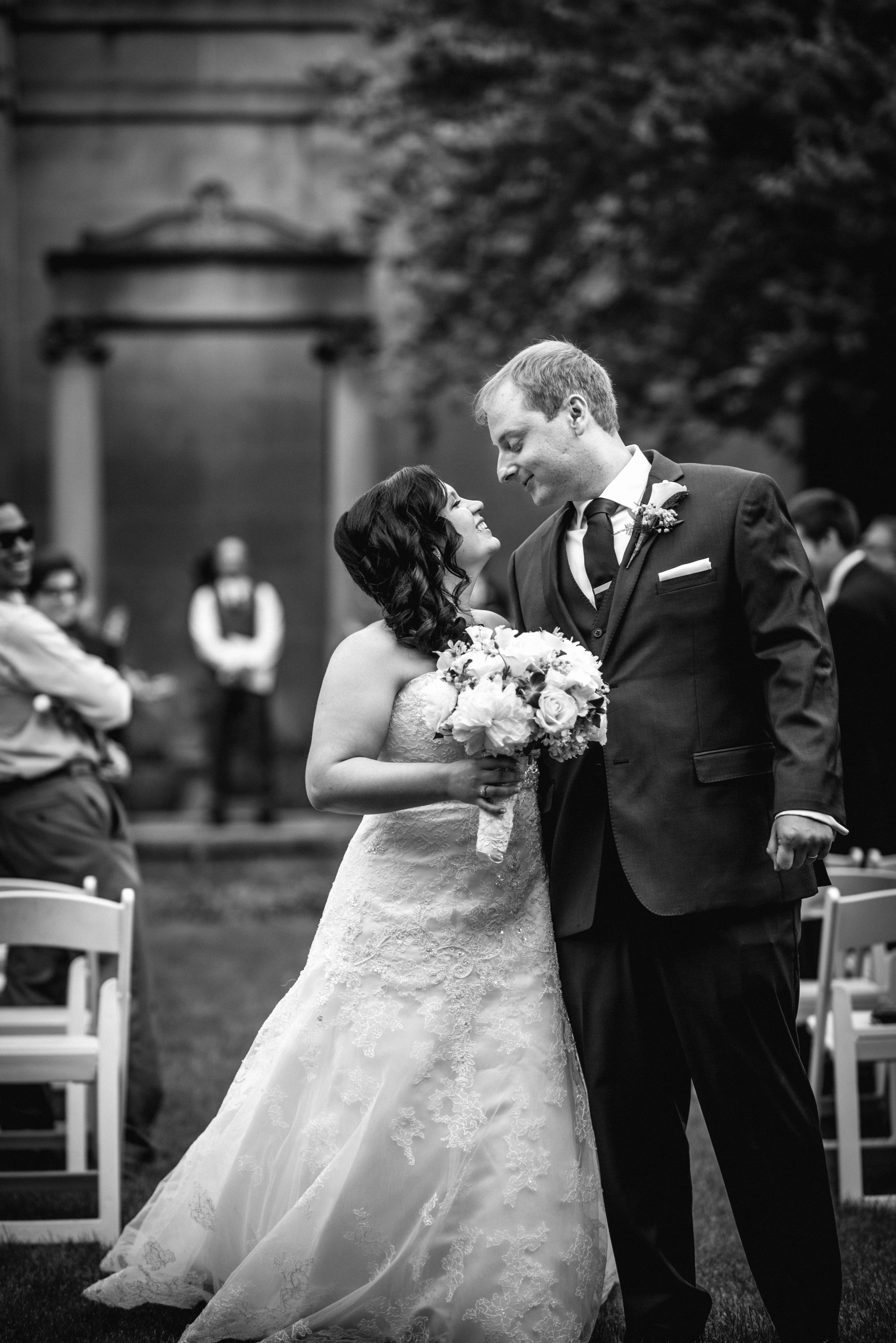 Wedding at Western Reserve Historical Society in Cleveland OH | Liz + Ron