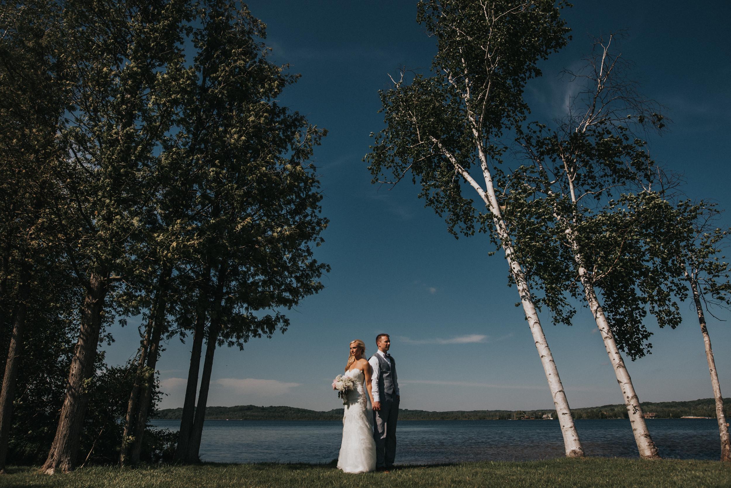 Wedding at Crooked Creek Ranch in Traverse City Michigan   Andrea + Karl