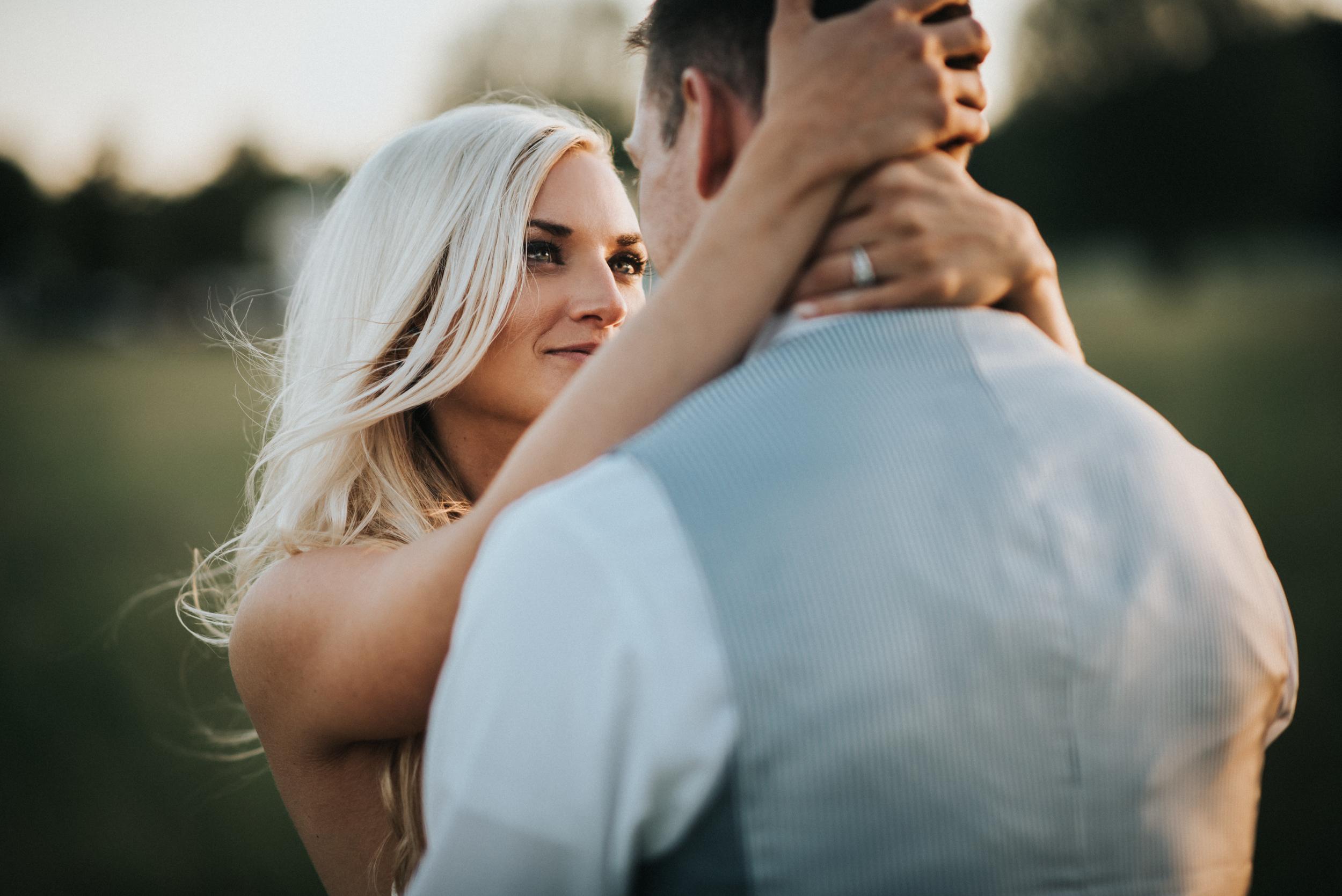 wedding at crooked creek ranch in traverse city michigan andrea and karl