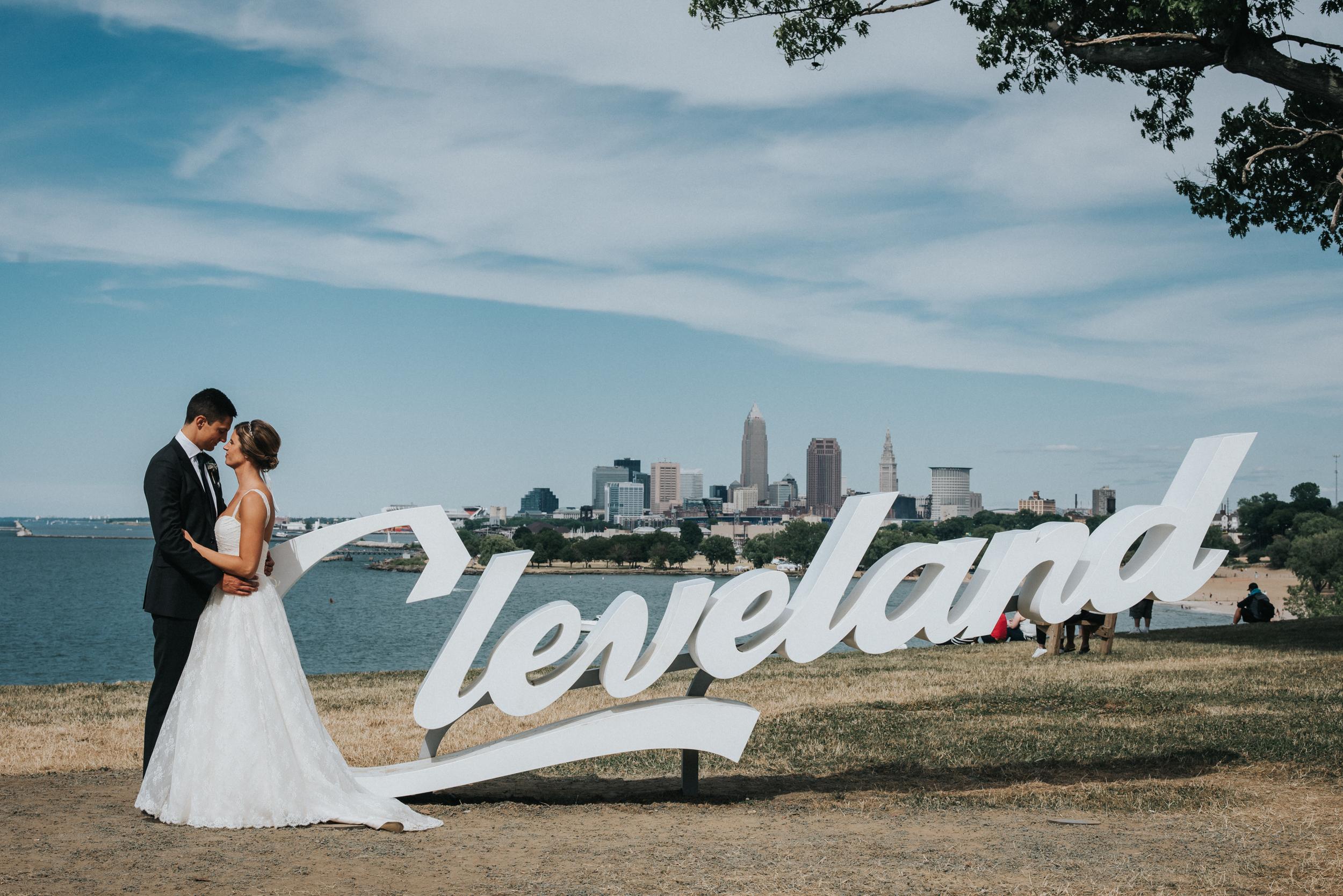 wedding at ariel international center cleveland ohio maggie eric