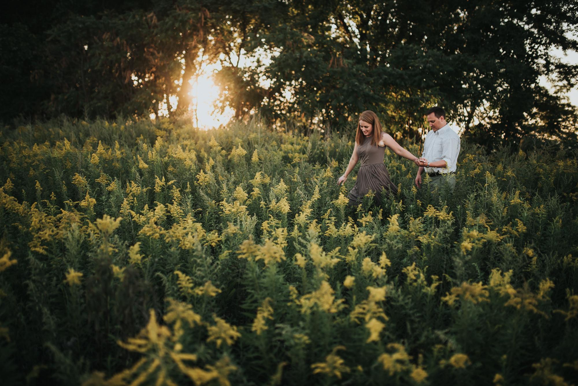 wendy park engagement session - cleveland ohio