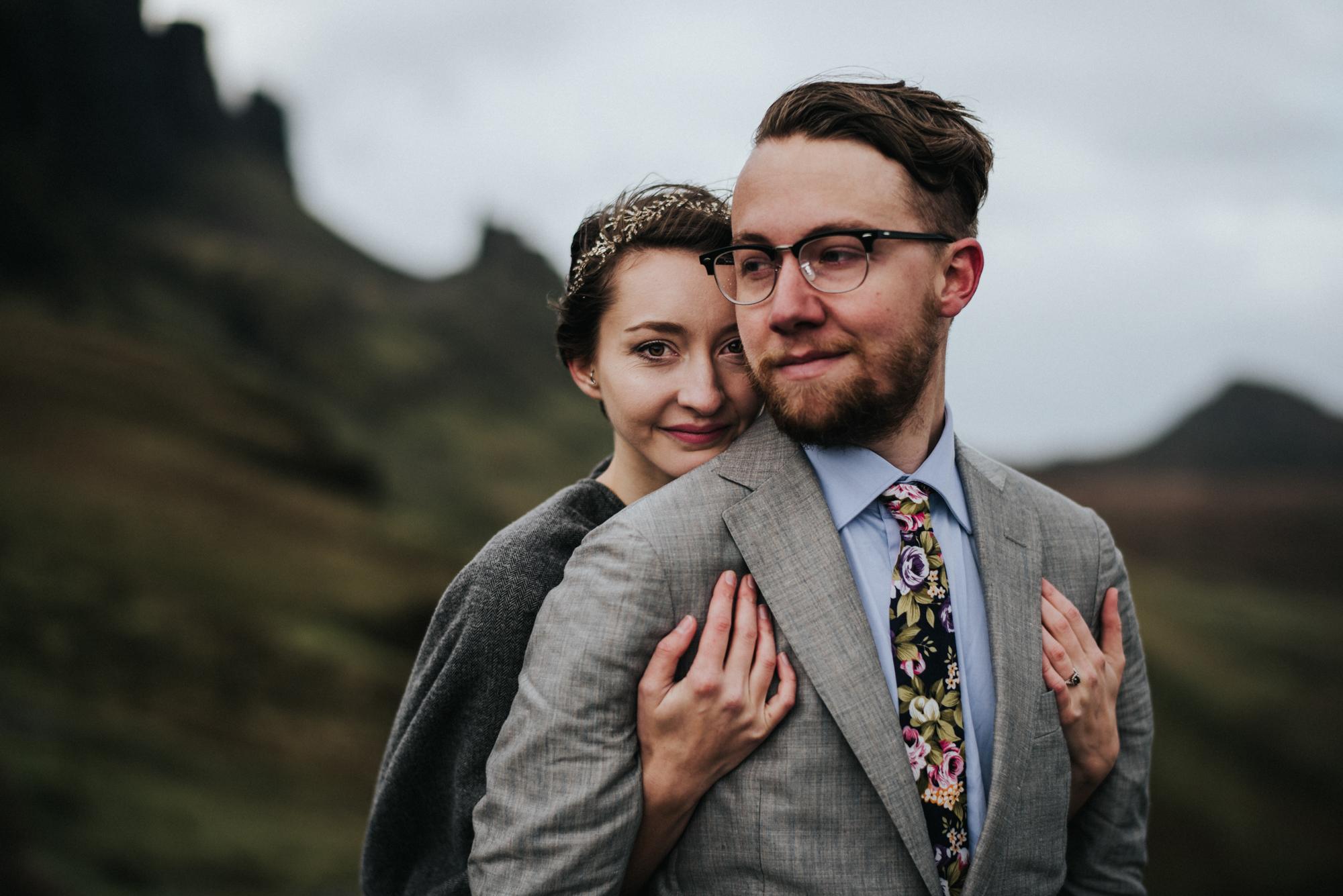 Isle of Skye Scotland Elopement - Lisa and Alex