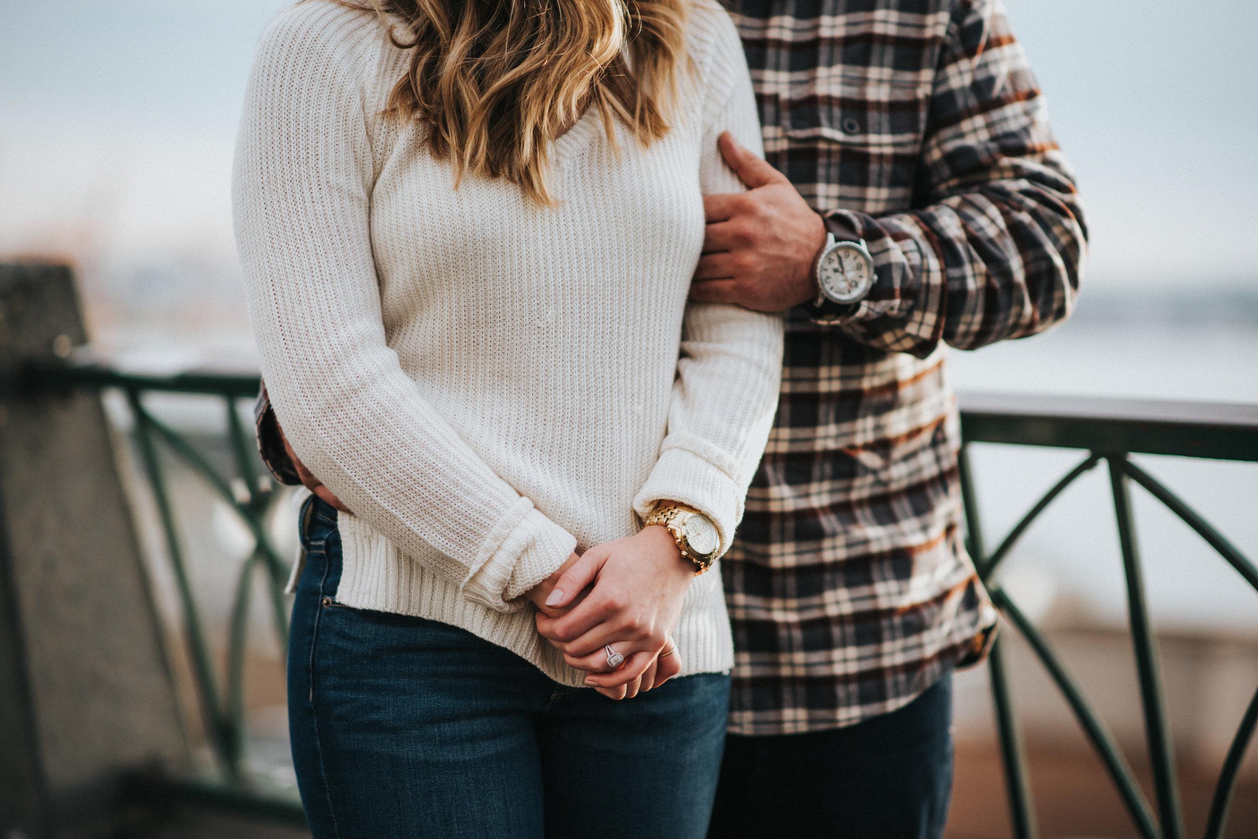 seattle washington engagement session