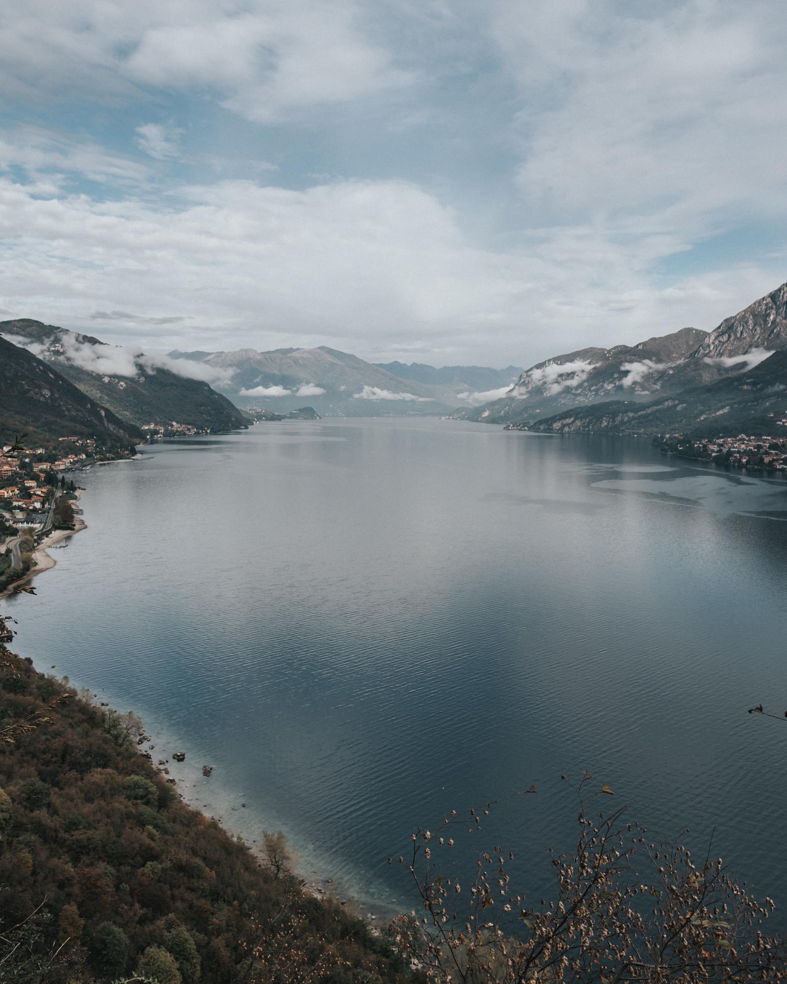 Lake como adventure photography