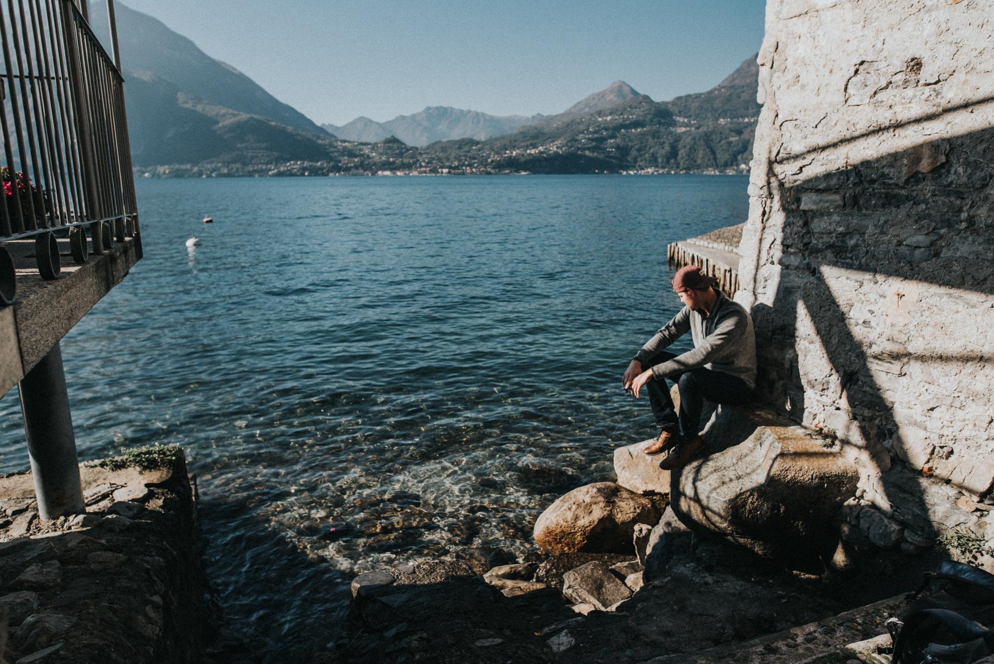 lake como travel photography