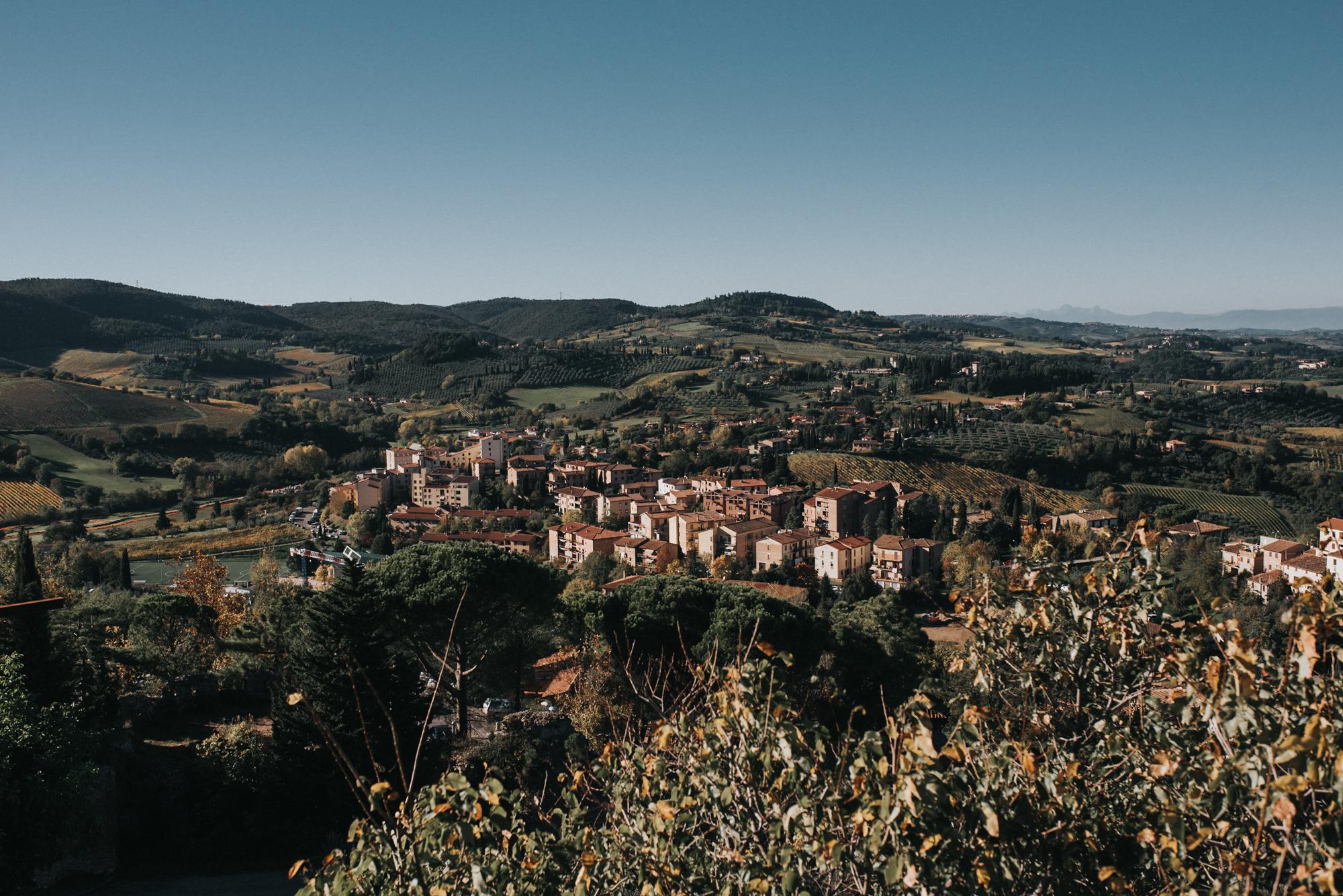 San Gimignano Italy Traveling wedding photographers