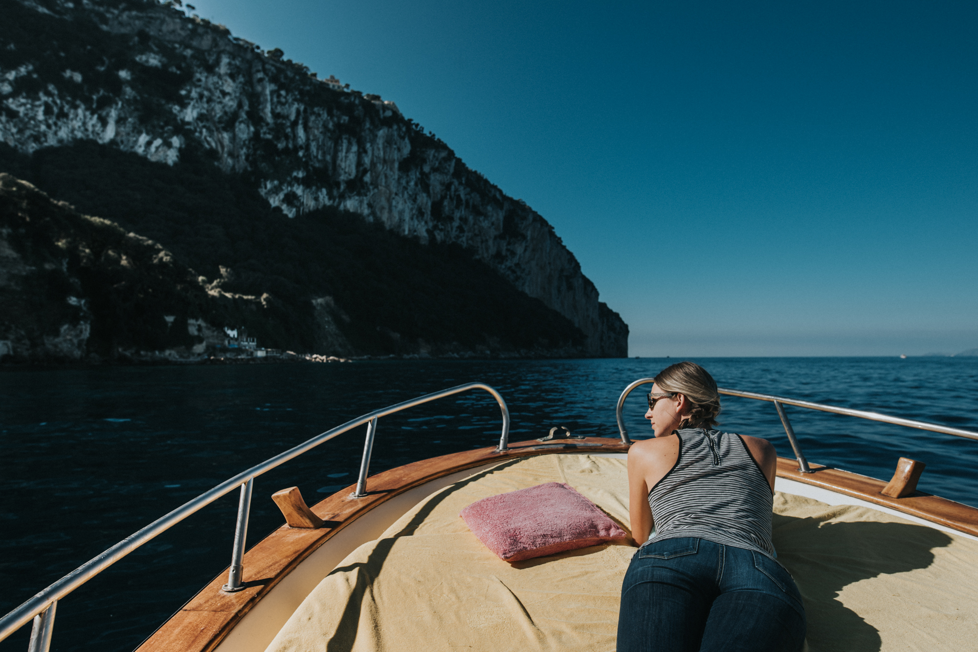 Backpacking trip to Positano Italy and Capri