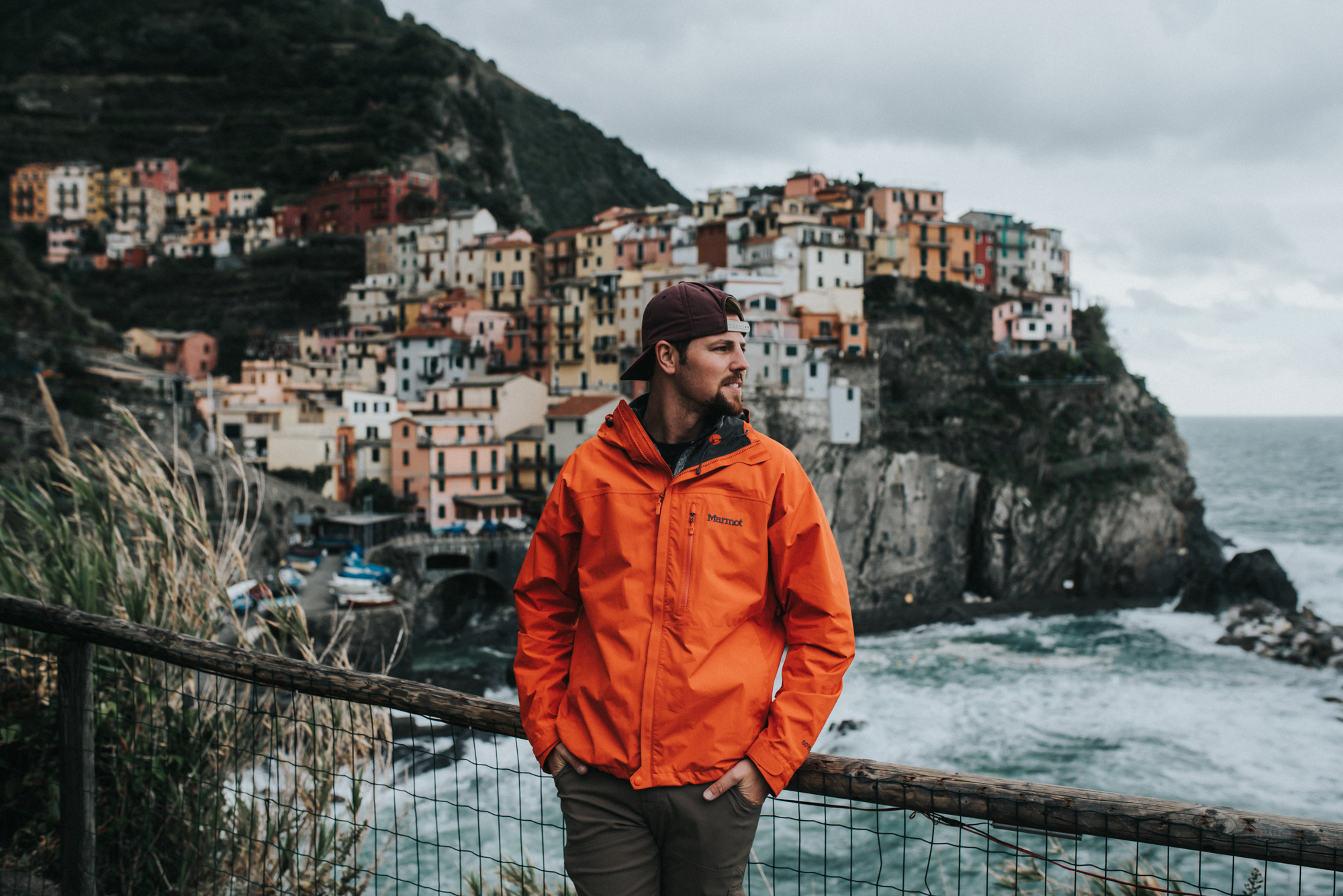 Cinque Terre Italy Backpacking adventure - manarola
