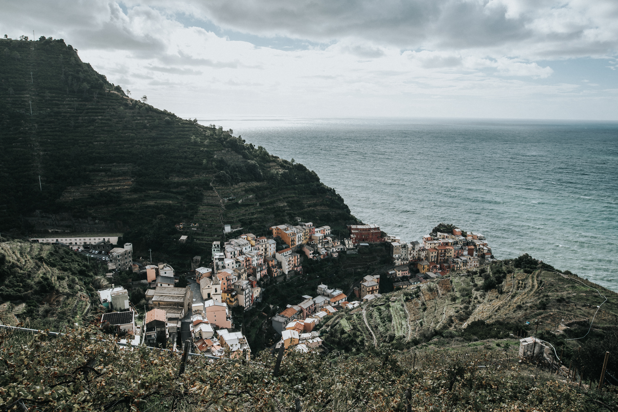 Cinque Terre Italy Backpacking adventure manarola
