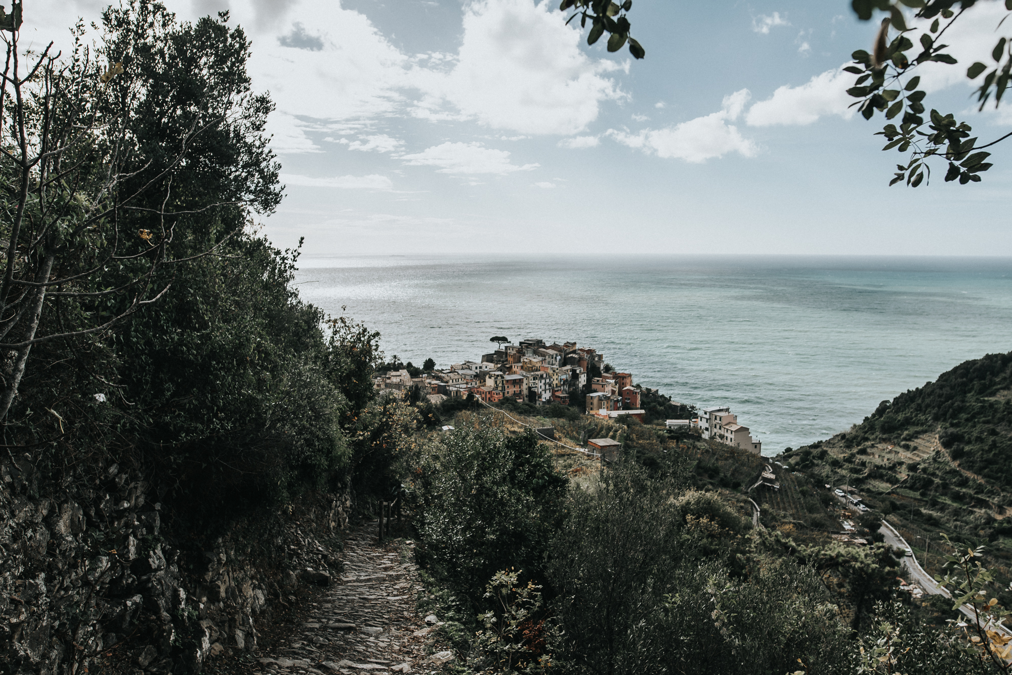 Cinque Terre Italy Backpacking adventure