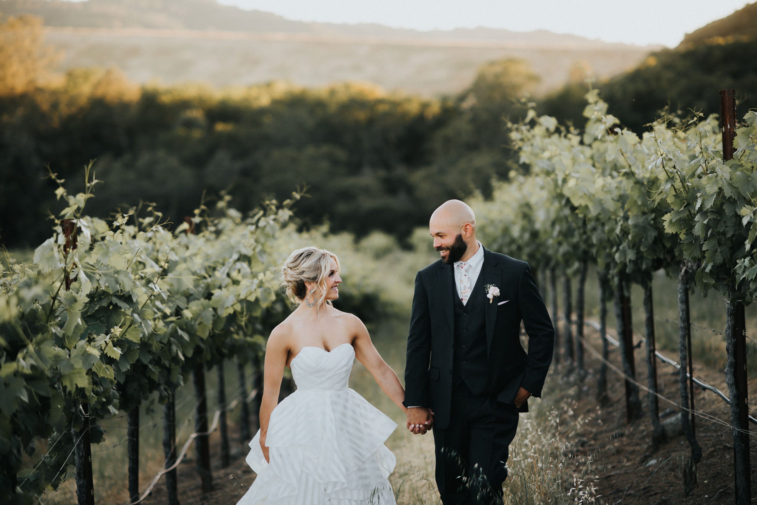 wedding at sbragia family vineyards geyserville california melanie and addison