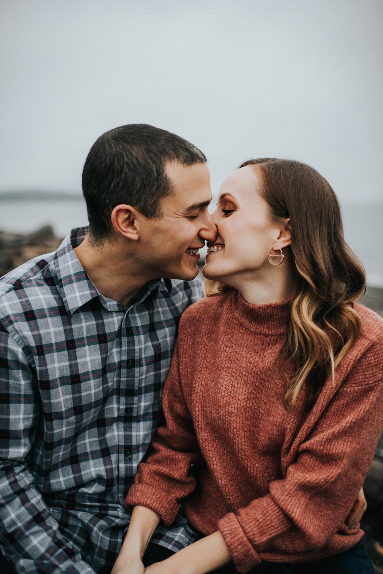Engagement at Fay Bainbridge Park on Bainbridge Island WA | Nicole & Max