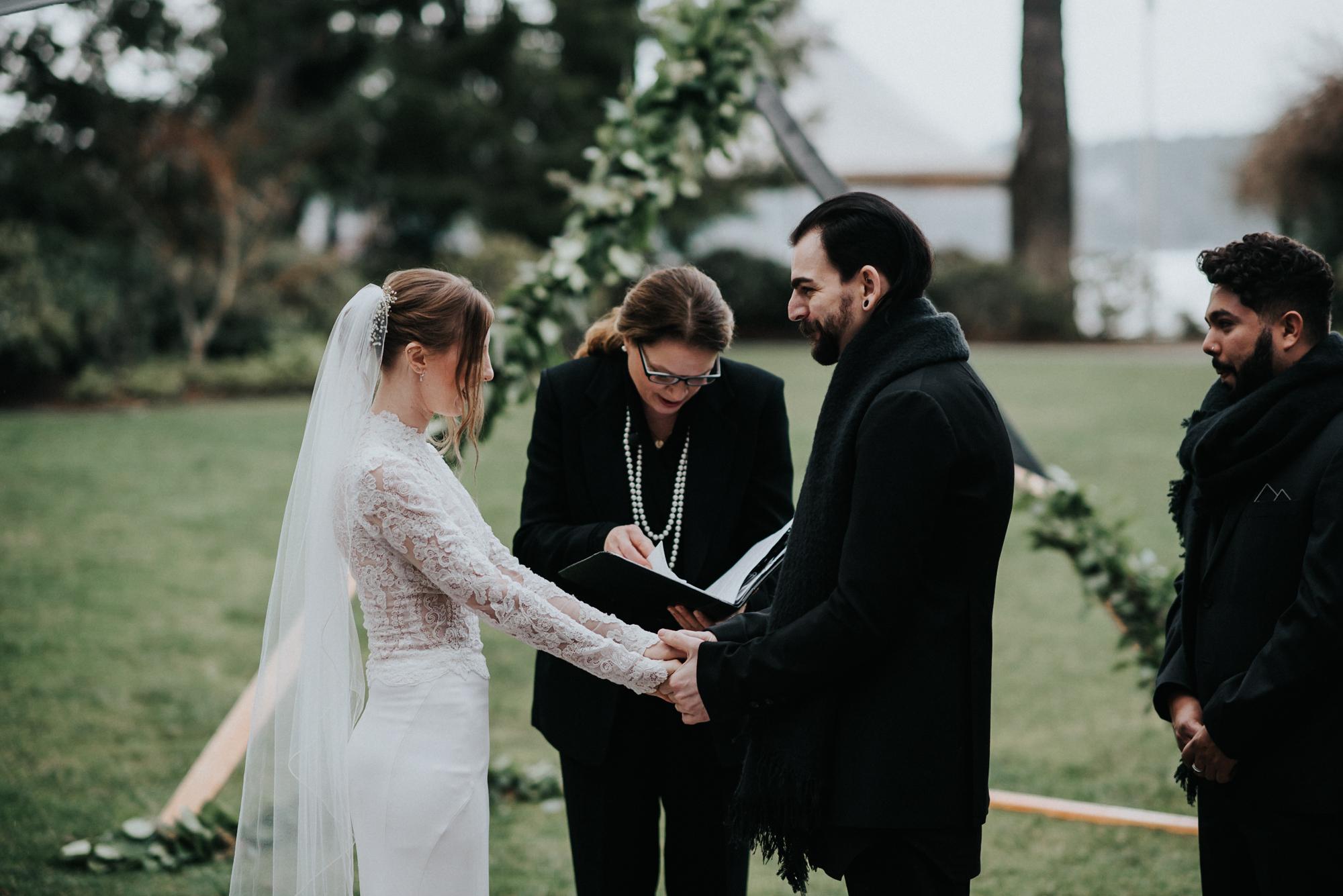 Wedding at Alderbrook Resort & Spa in Union WA | Katherine & Matthew