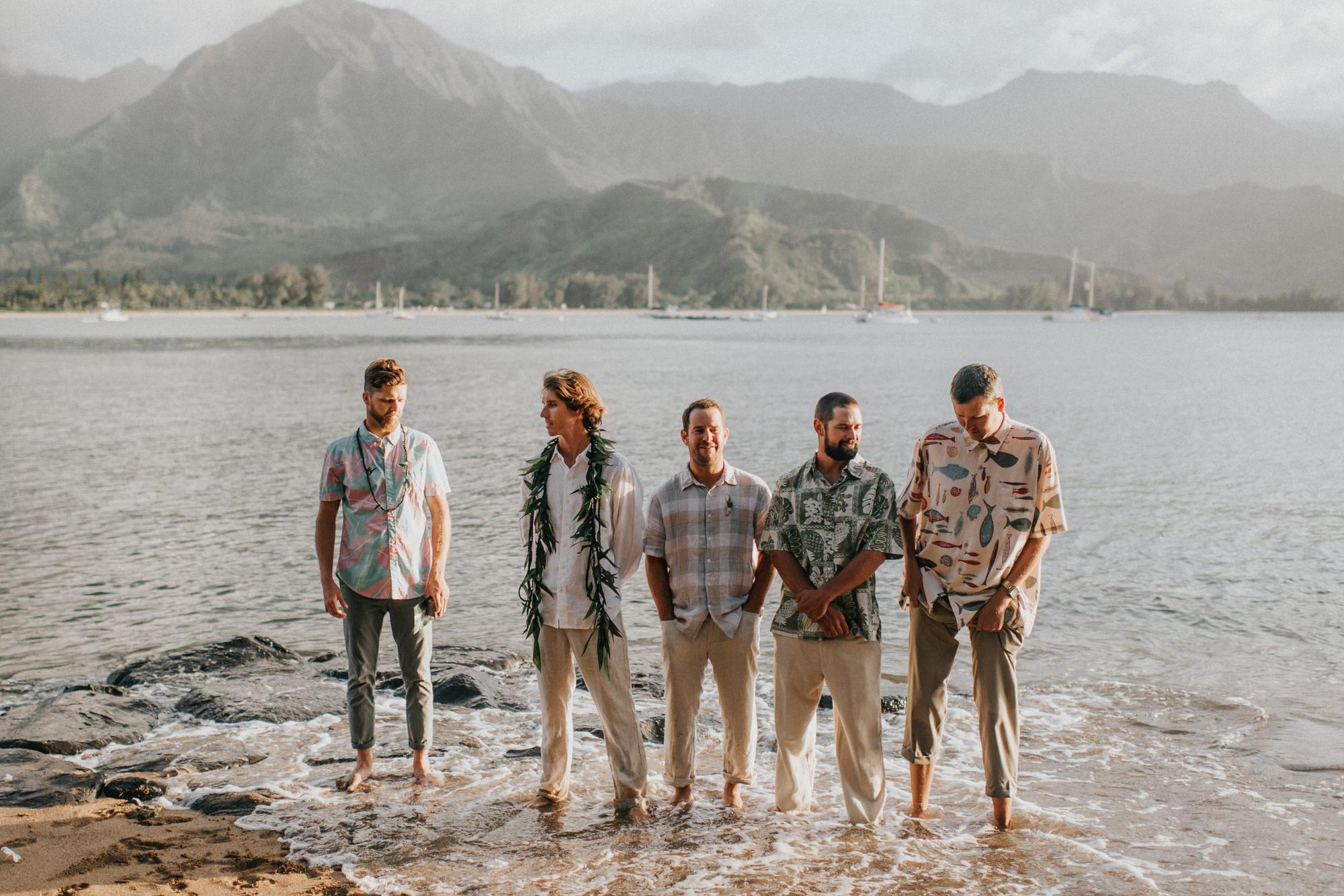 Kauai Hawaii Elopement Photographer Princeville Kauai Wedding