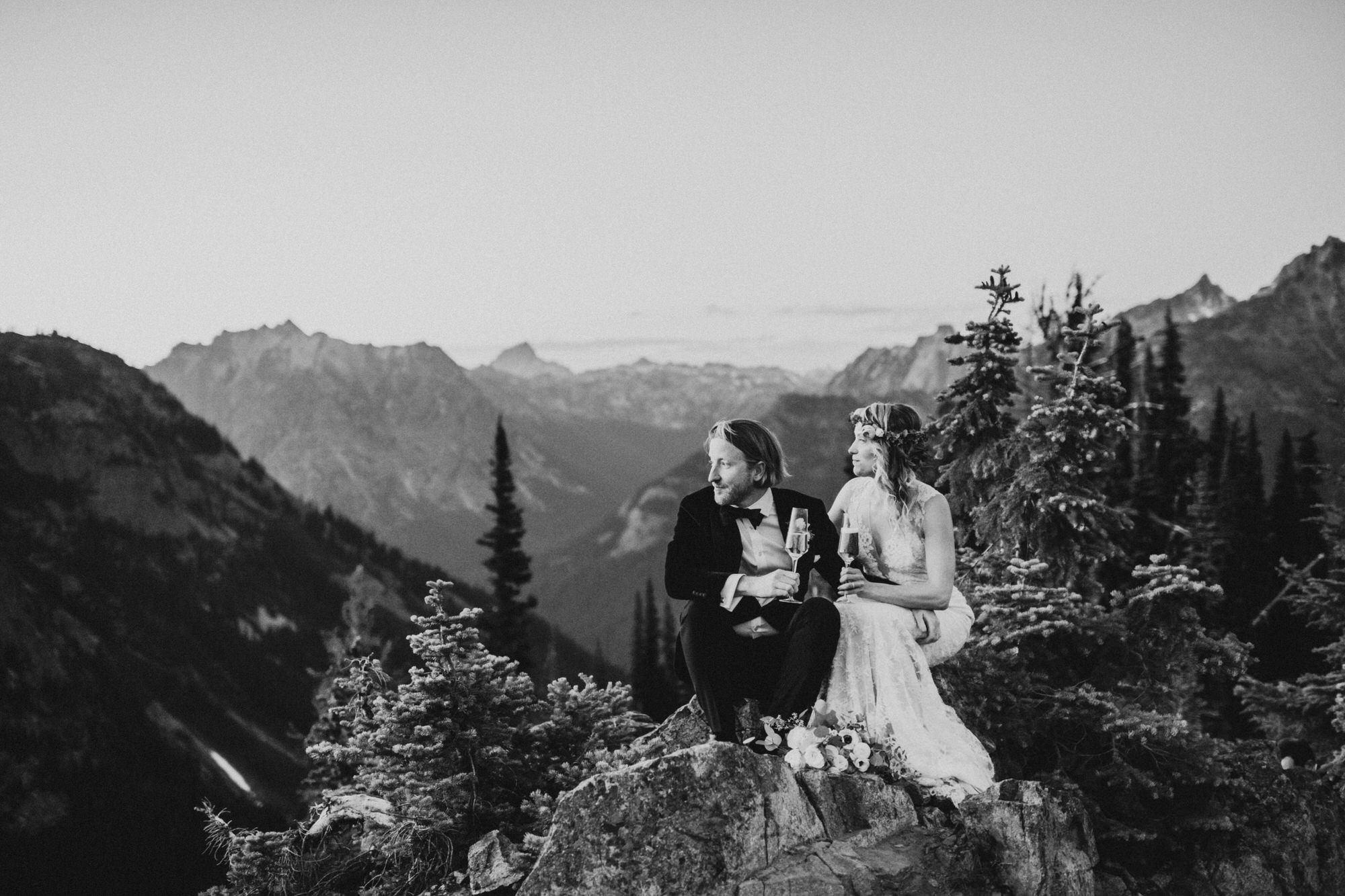 North Cascades National Park Adventure Elopement