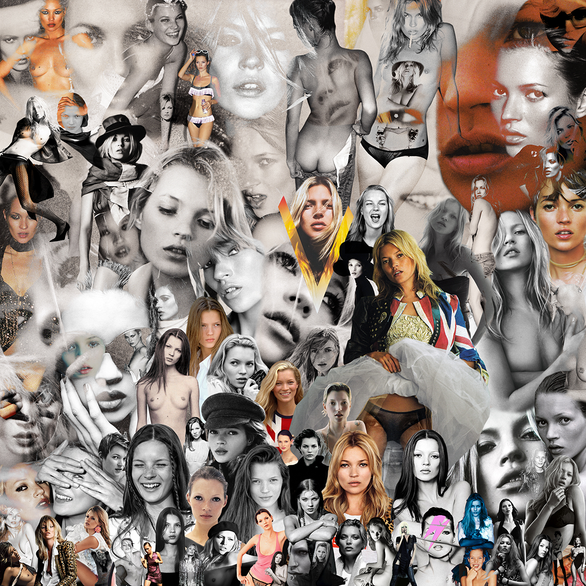 KATE MOSS COLLAGE v.2.0