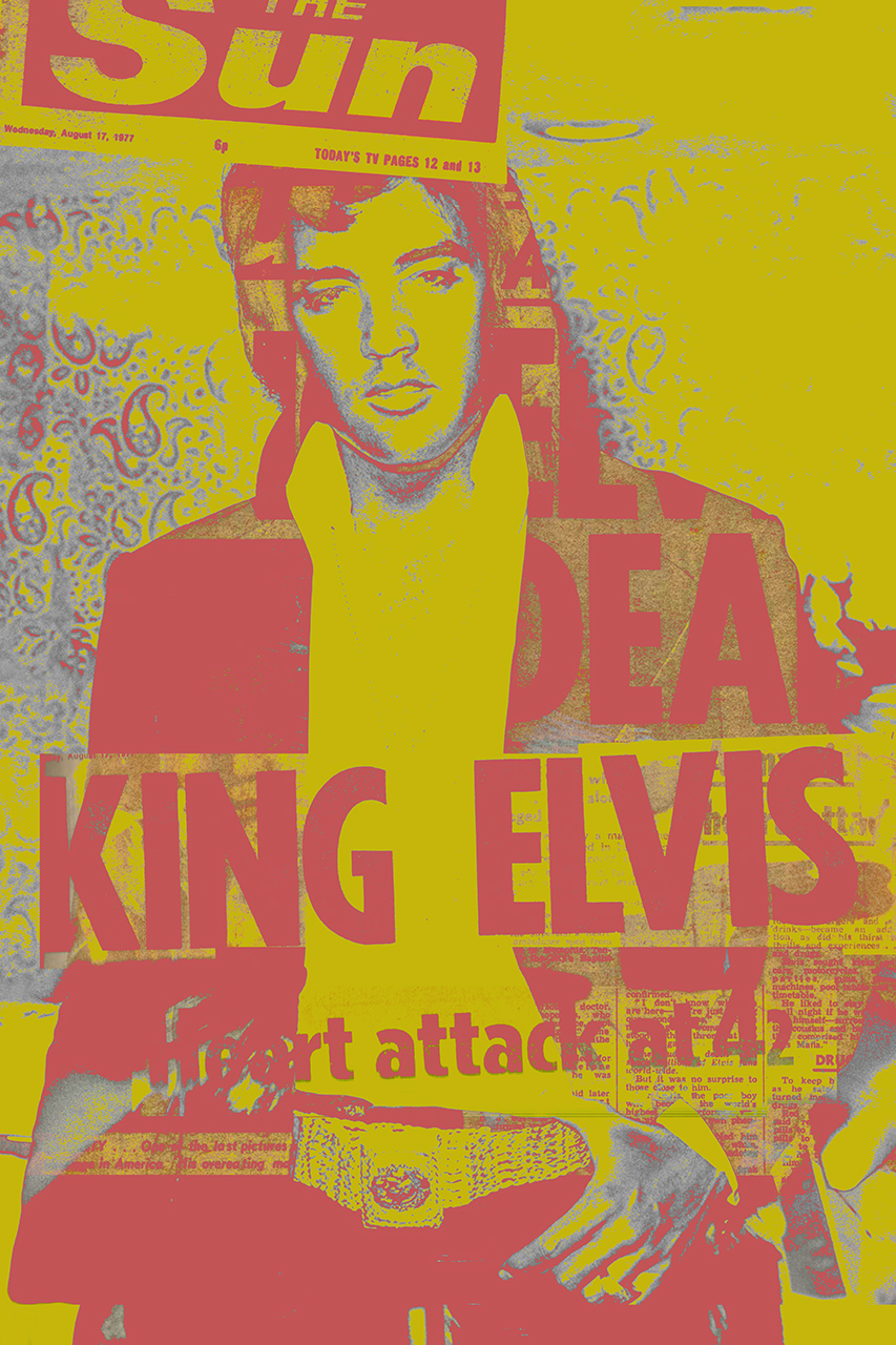 ELVIS THE KING IS DEAD  #02 v.2