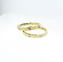Part Eternity wedding bands