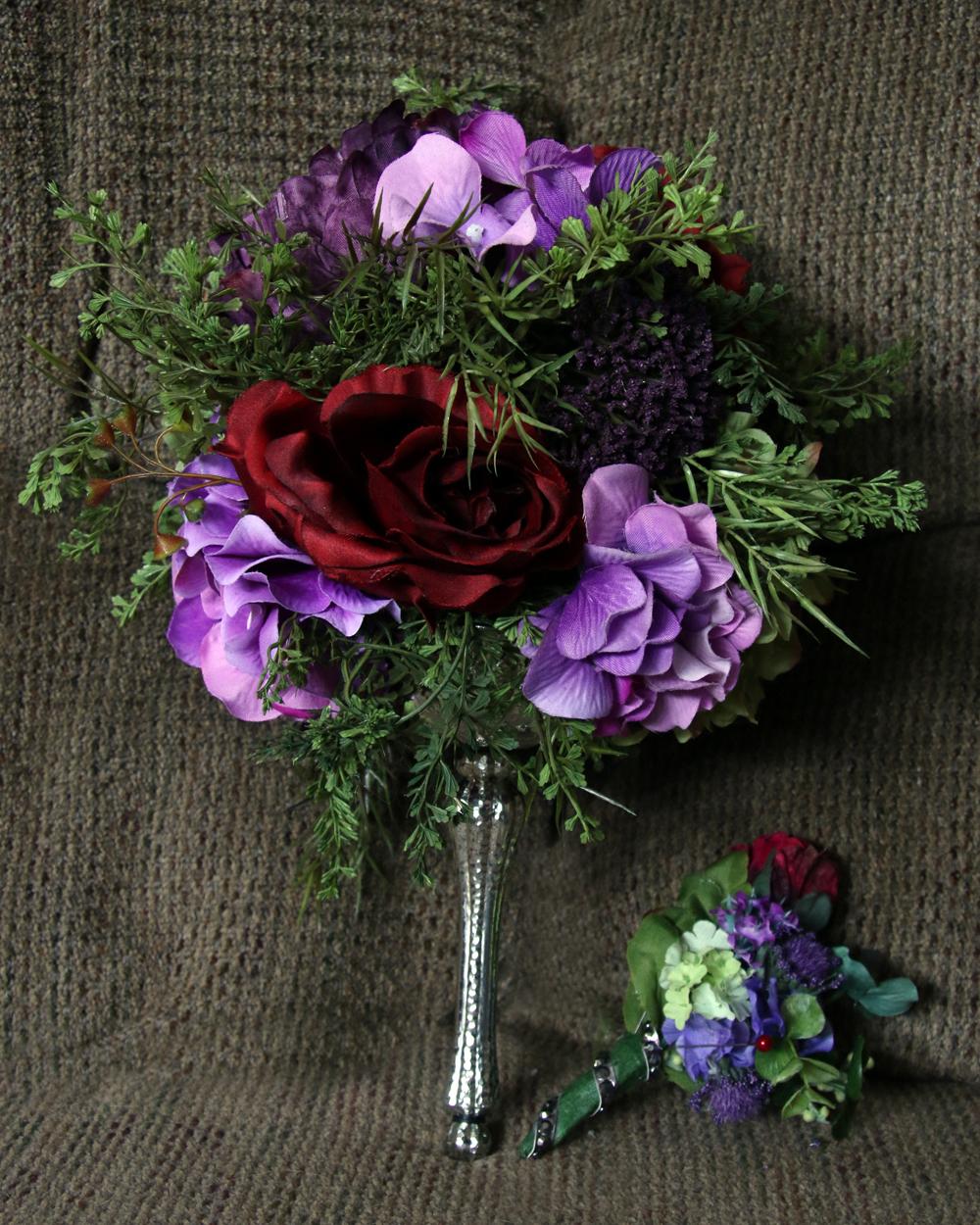 purple.pink.red.bouquets.kcweddings2go