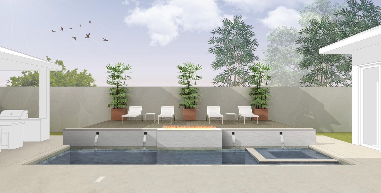 Mckean Circle Outdoor Living Concept