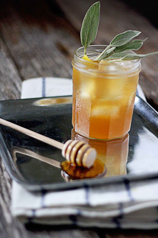 Image via  In Sock Monkey Slippers    Not sure what do with the extra sage you have leftover from your last  smudge ceremony ? This  Hibernating Honey Bear cocktail  has you covered! With simple syrup made from honey and sage, this bourbon base drink is the perfect combination of slightly sweet with an autumnal, earthy edge. Honey and bourbon are a perfect match and this time of year is sage's time to shine. Though a touch more prep work, this fall infused beverage is definitely worth it.