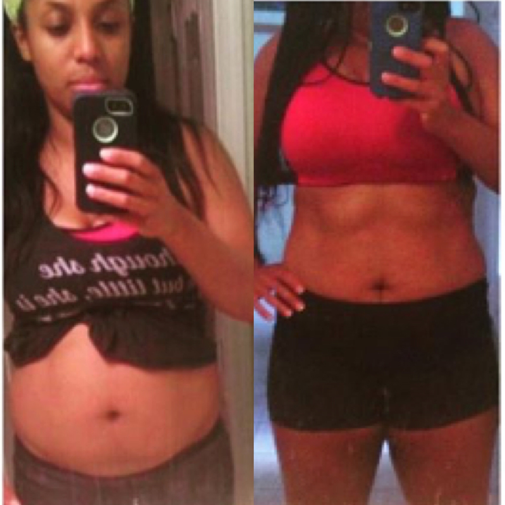 """""""I wanted to send these to you! Your ab program is awesome! Thank you for being my inspiration!""""-fitnessbaddie"""