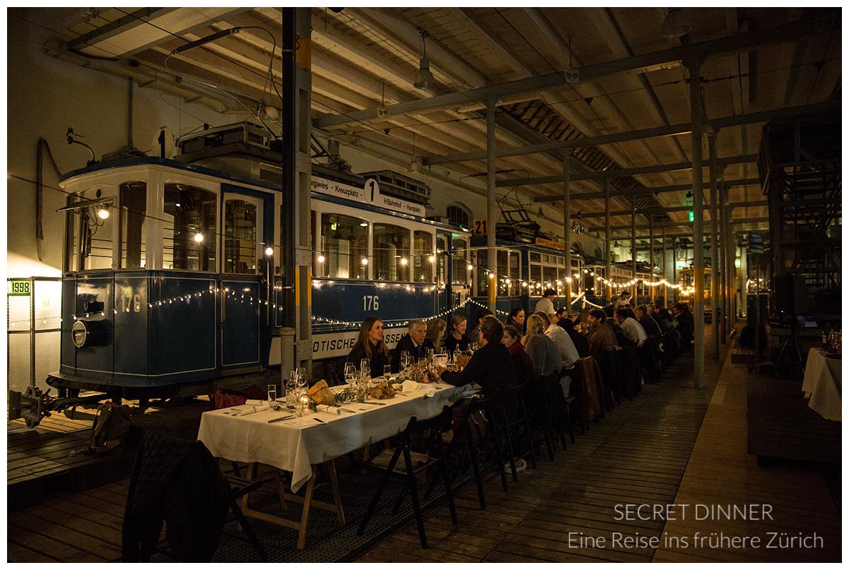 Eine Reiseins frühere Zürich -